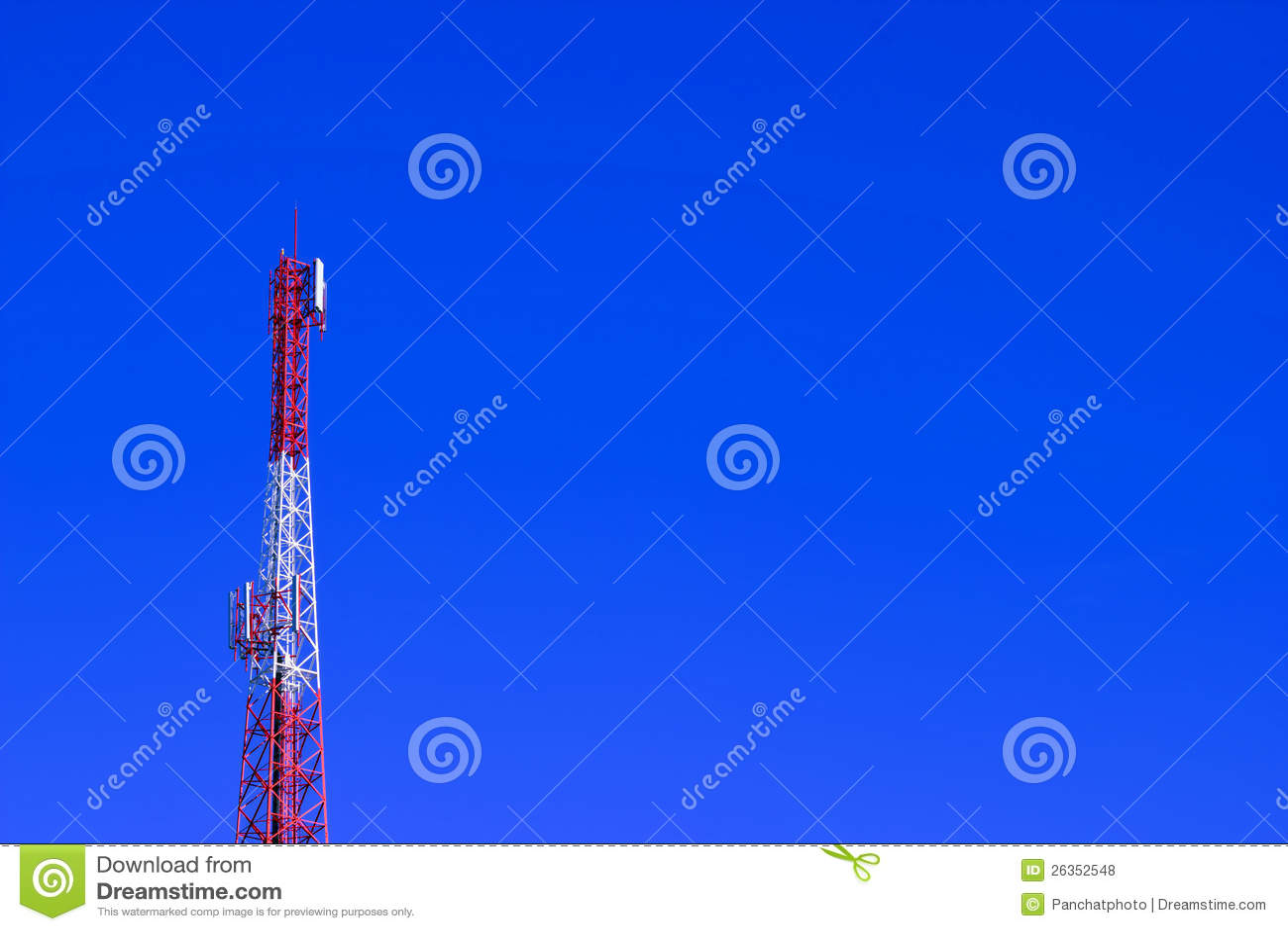 Telekommunikationskontrollturm