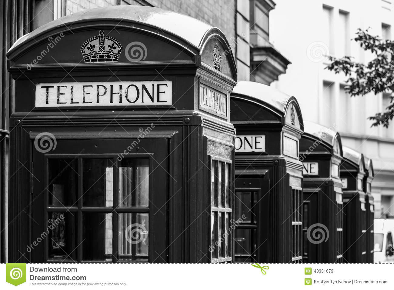 Box United Kingdom  city photo : London's red telephone boxes, United Kingdom.