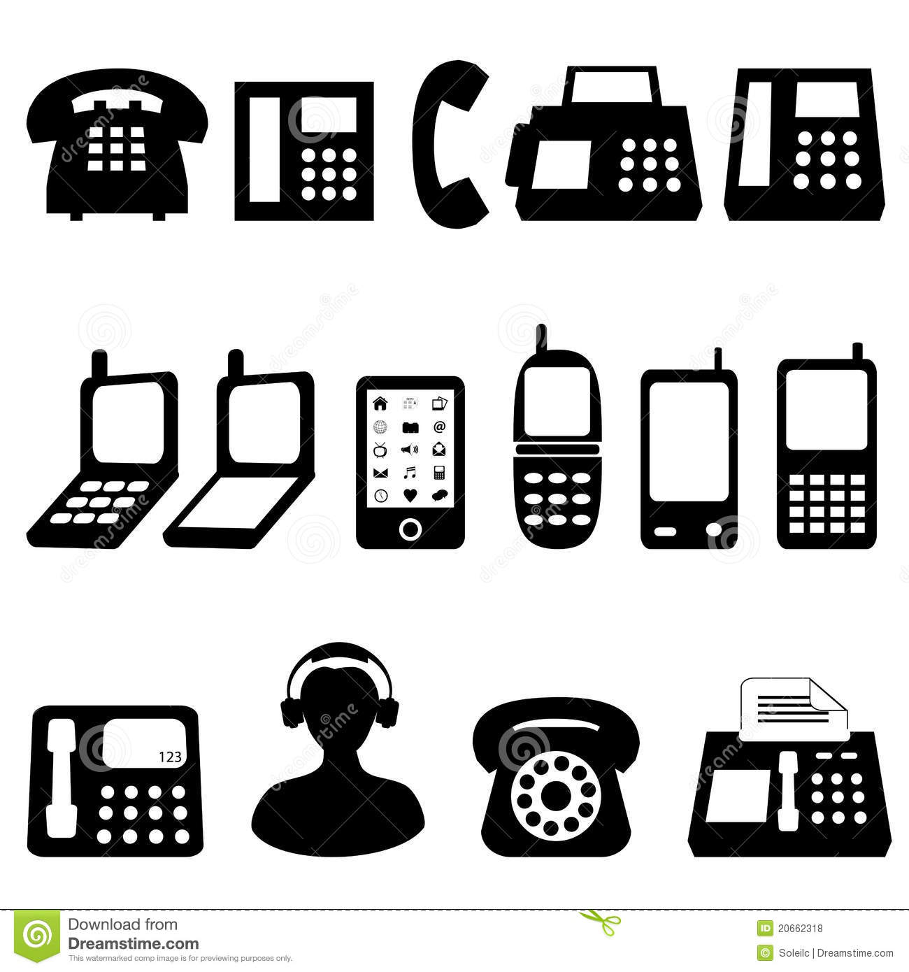 telephone and cell phone symbols stock vector clip art cell phone claws clip art cell phone bars