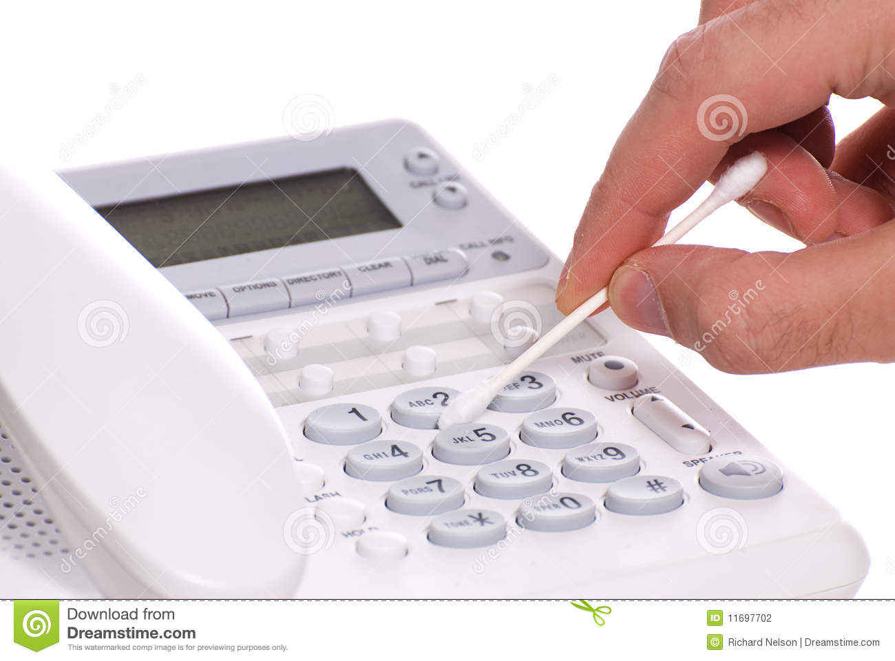 Telephone Cleaning Stock Photography Image 11697702