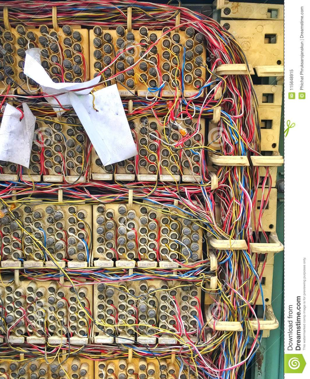 Marvelous Telephone Exchange Circuit And System Stock Image Image Of Repair Wiring Digital Resources Attrlexorcompassionincorg