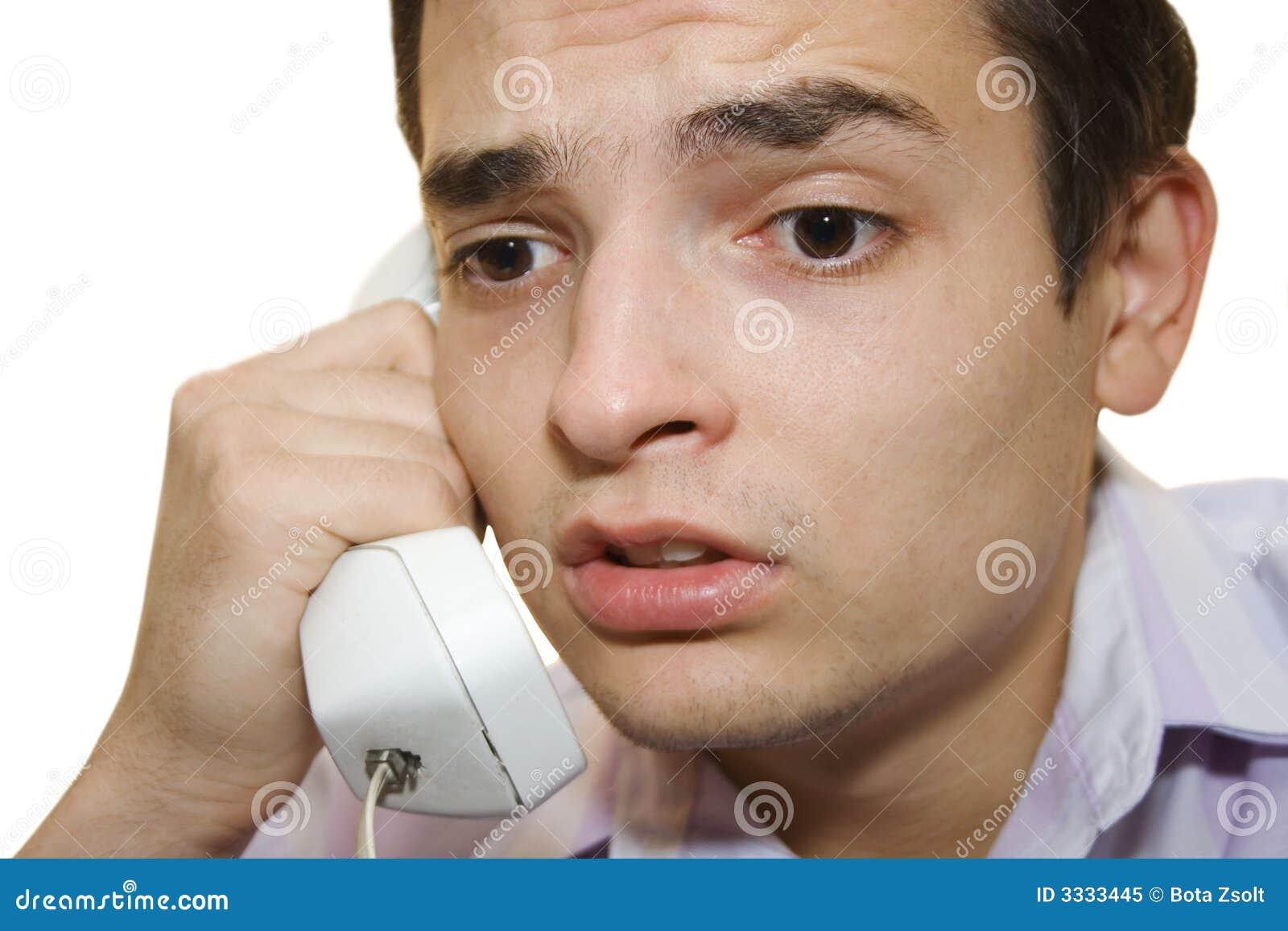 By telephone I.