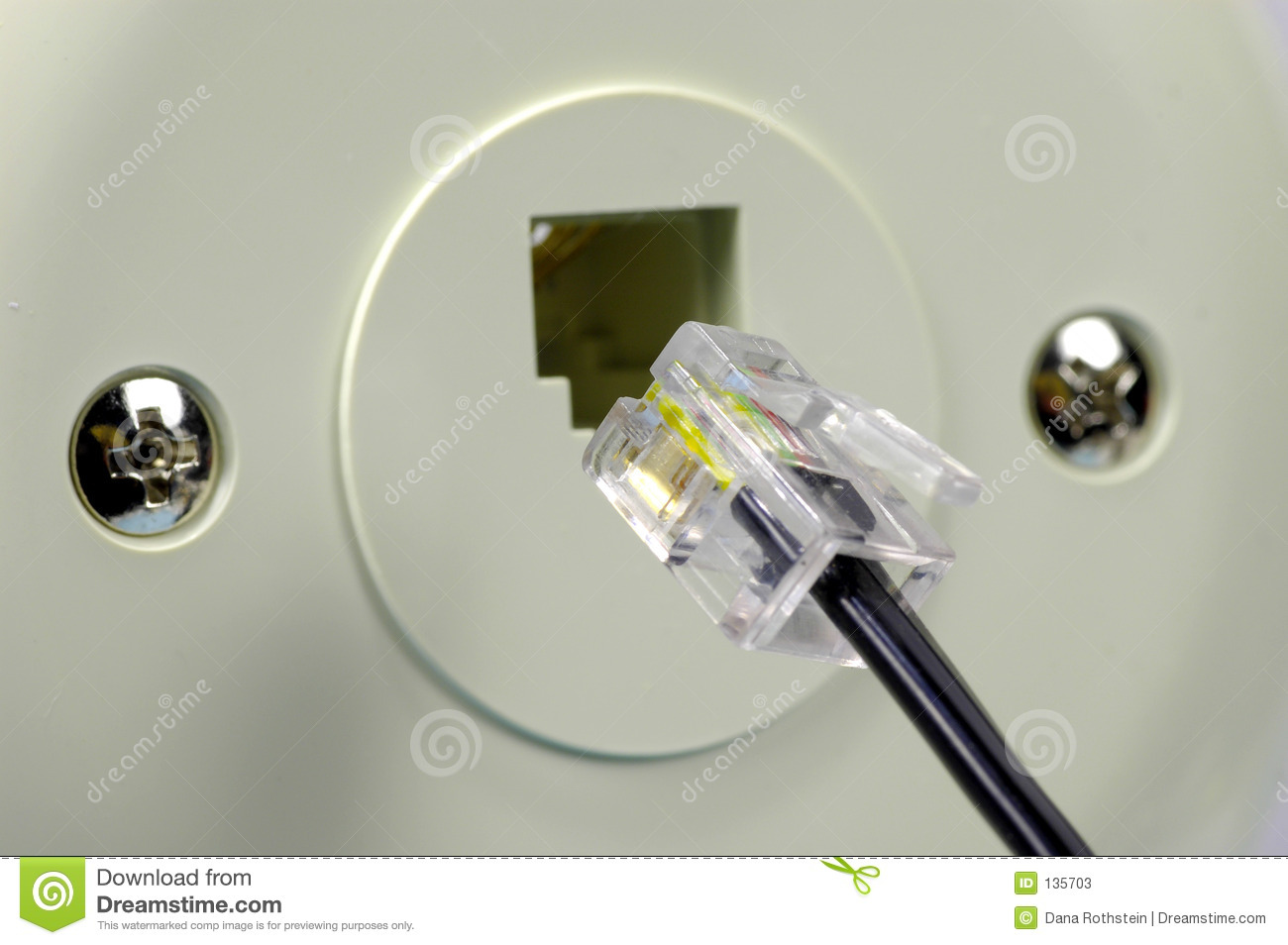 telephone jack stock image image of technology 6 pin trailer wiring diagram coleman popup