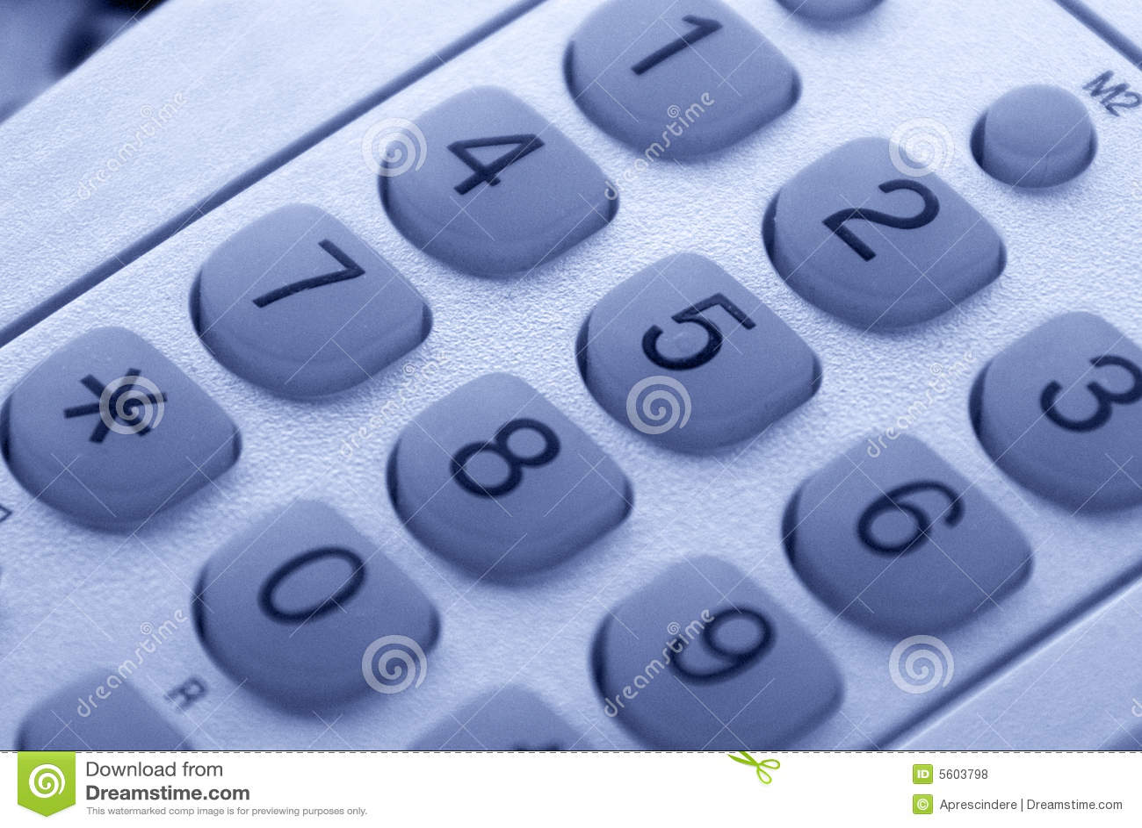 Telephone keys