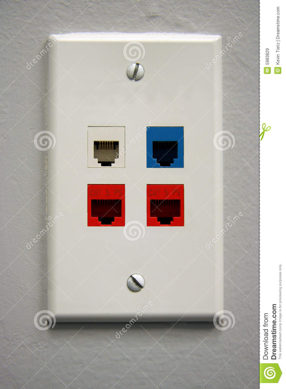 telephone outlet royalty free stock images