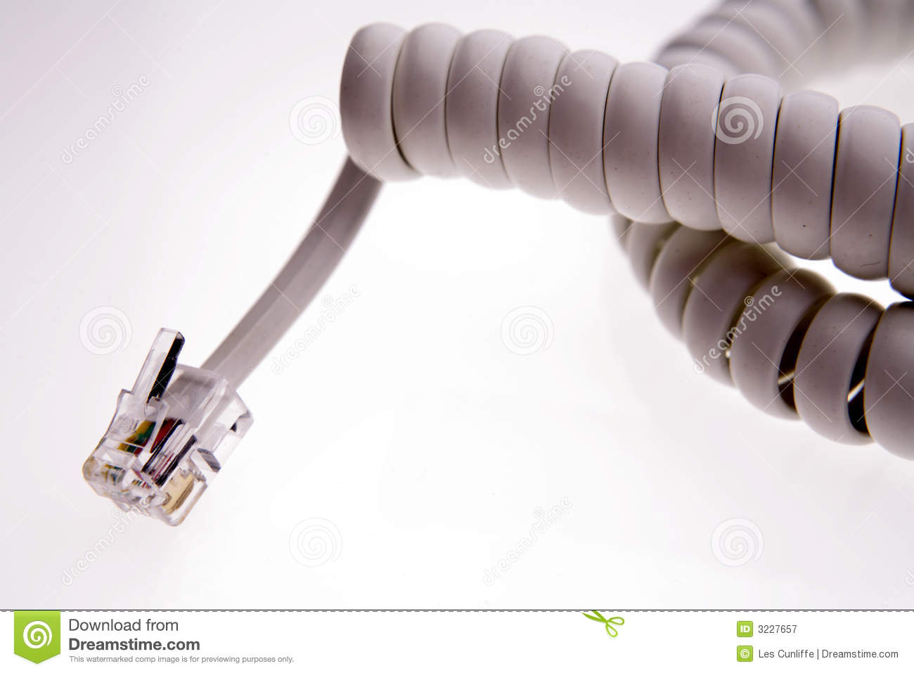 Download Telephone plug stock image. Image of macro, cable, telephone - 3227657