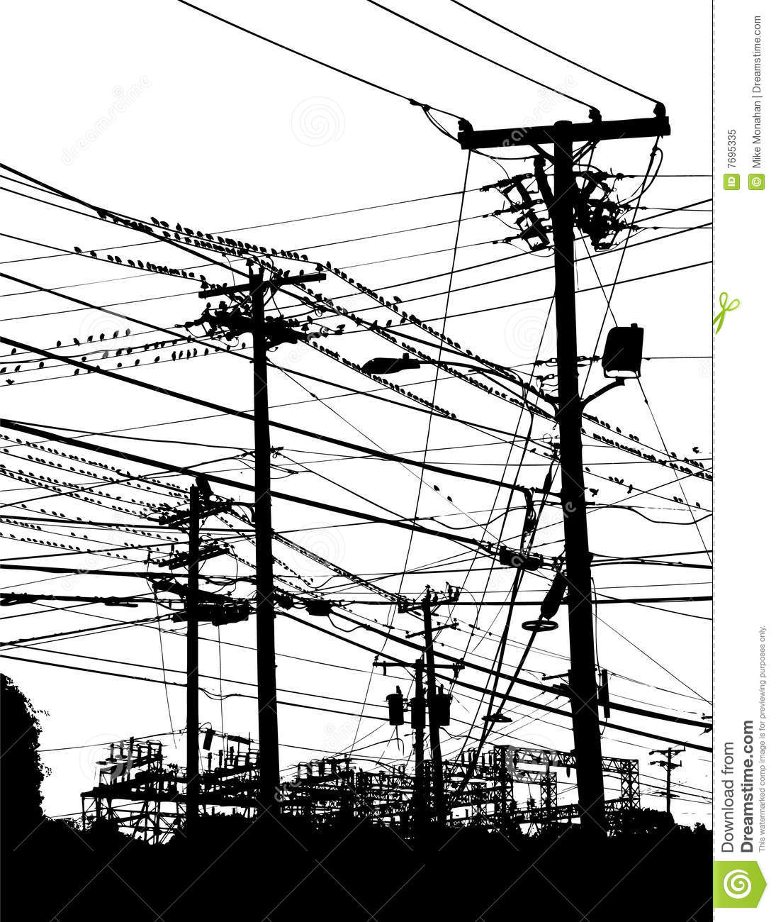 telephone poles and wires stock vector image of clipart telephone pole clipart telephone pole