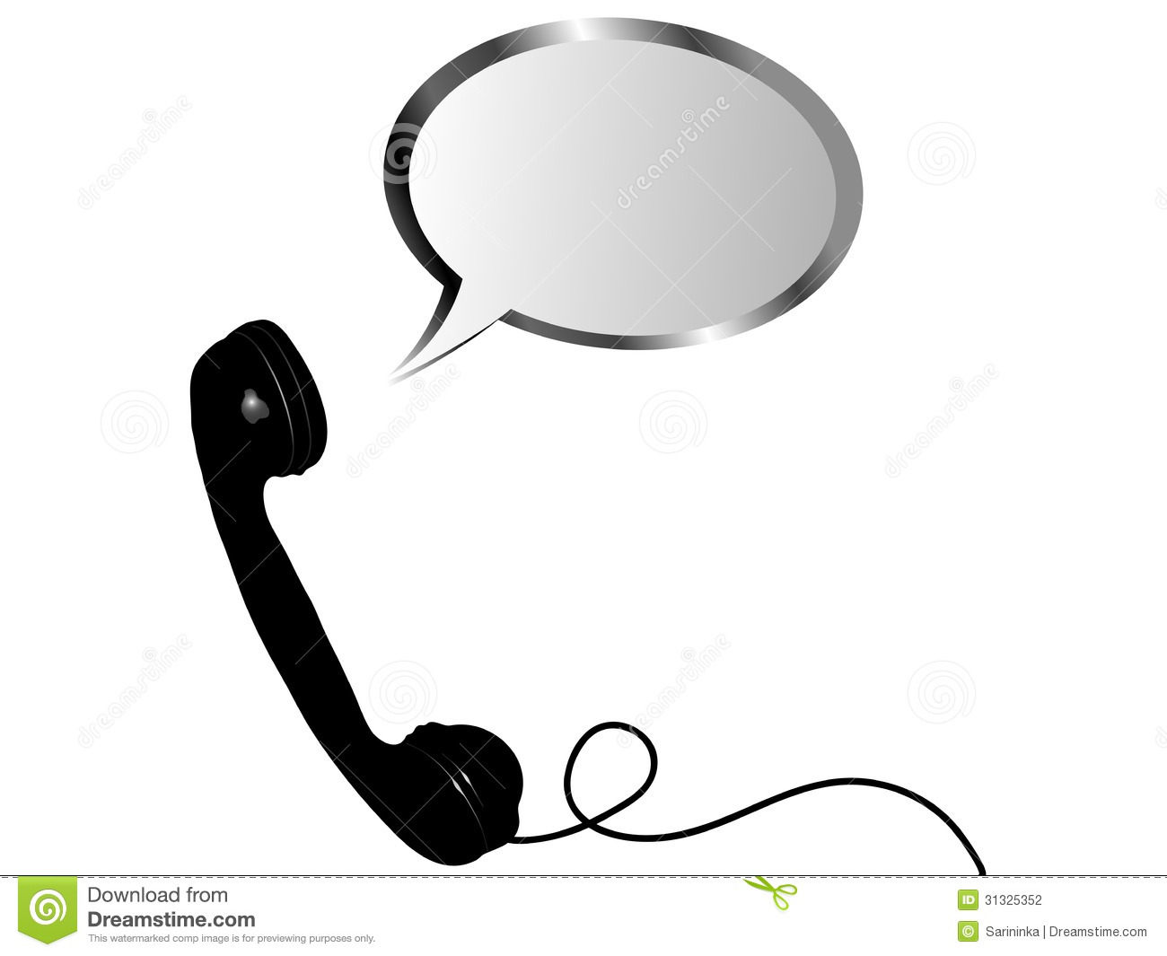 telephone receiver stock photography