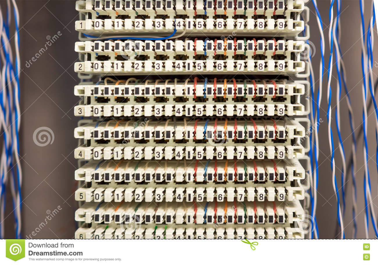 telephone switchboard panel and wires stock image image of online Telephone Wiring Board telephone switchboard panel and wires