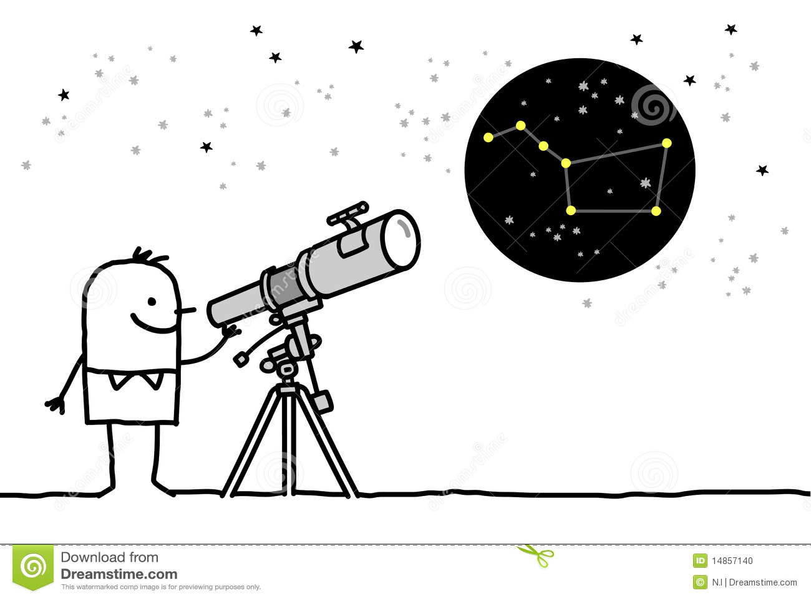 Telescope & constellation