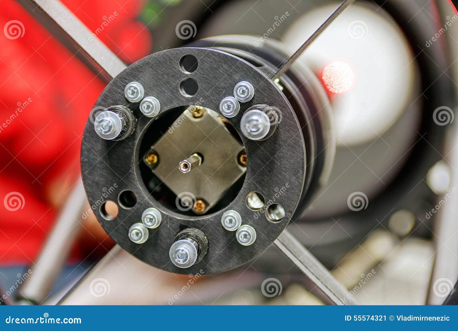 Teleskop kleinen ritcheyâu20ac u201echretien im labor stockbild bild von