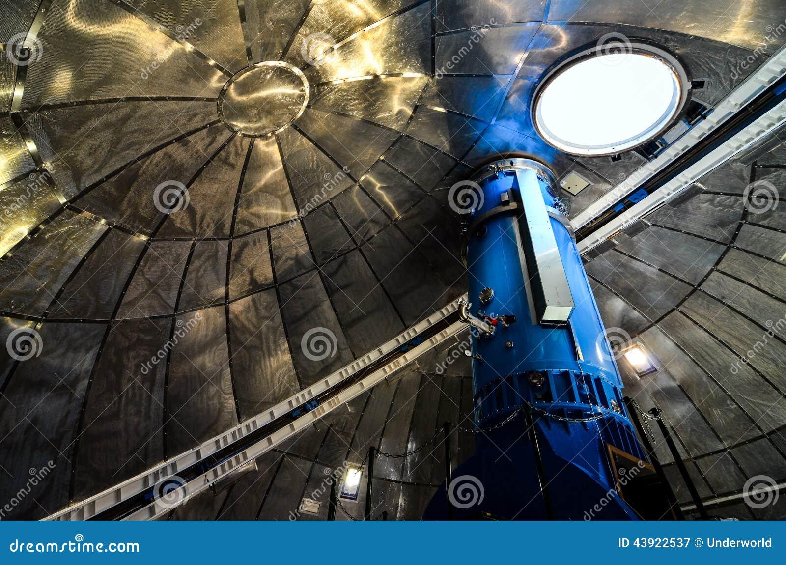 Teleskope des teide astronomischen beobachtungsgremiums stockbild