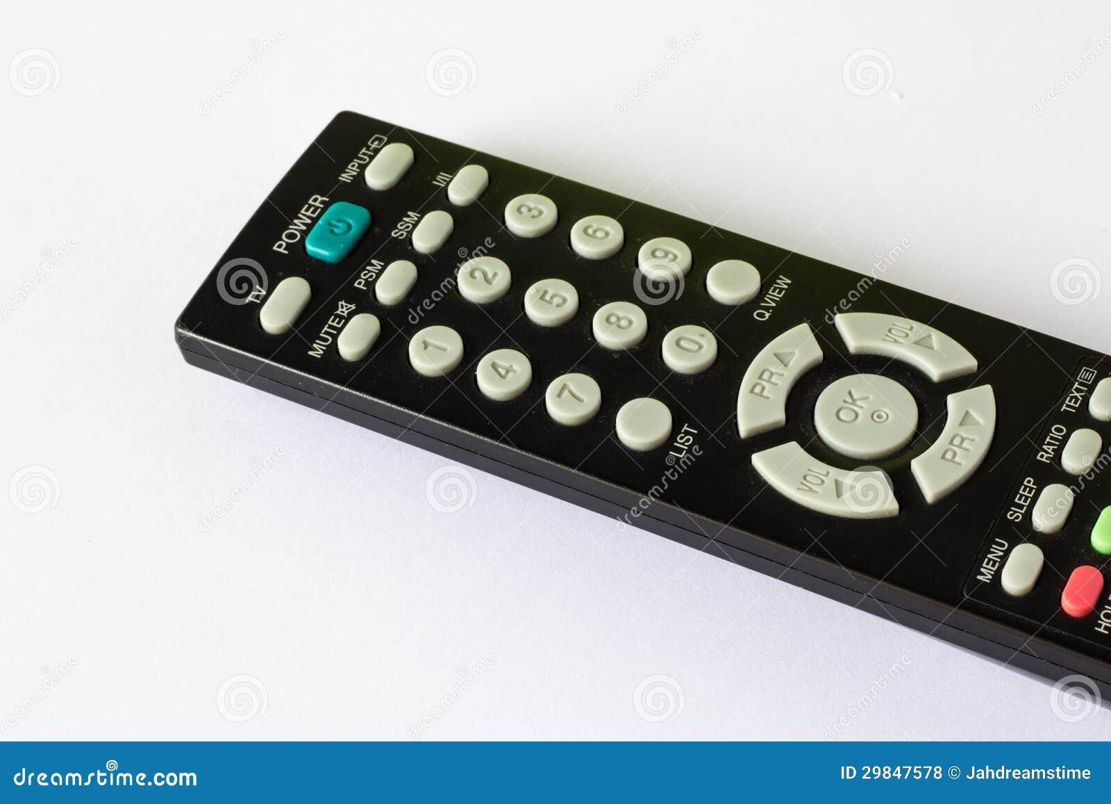 Televisão de controle remoto
