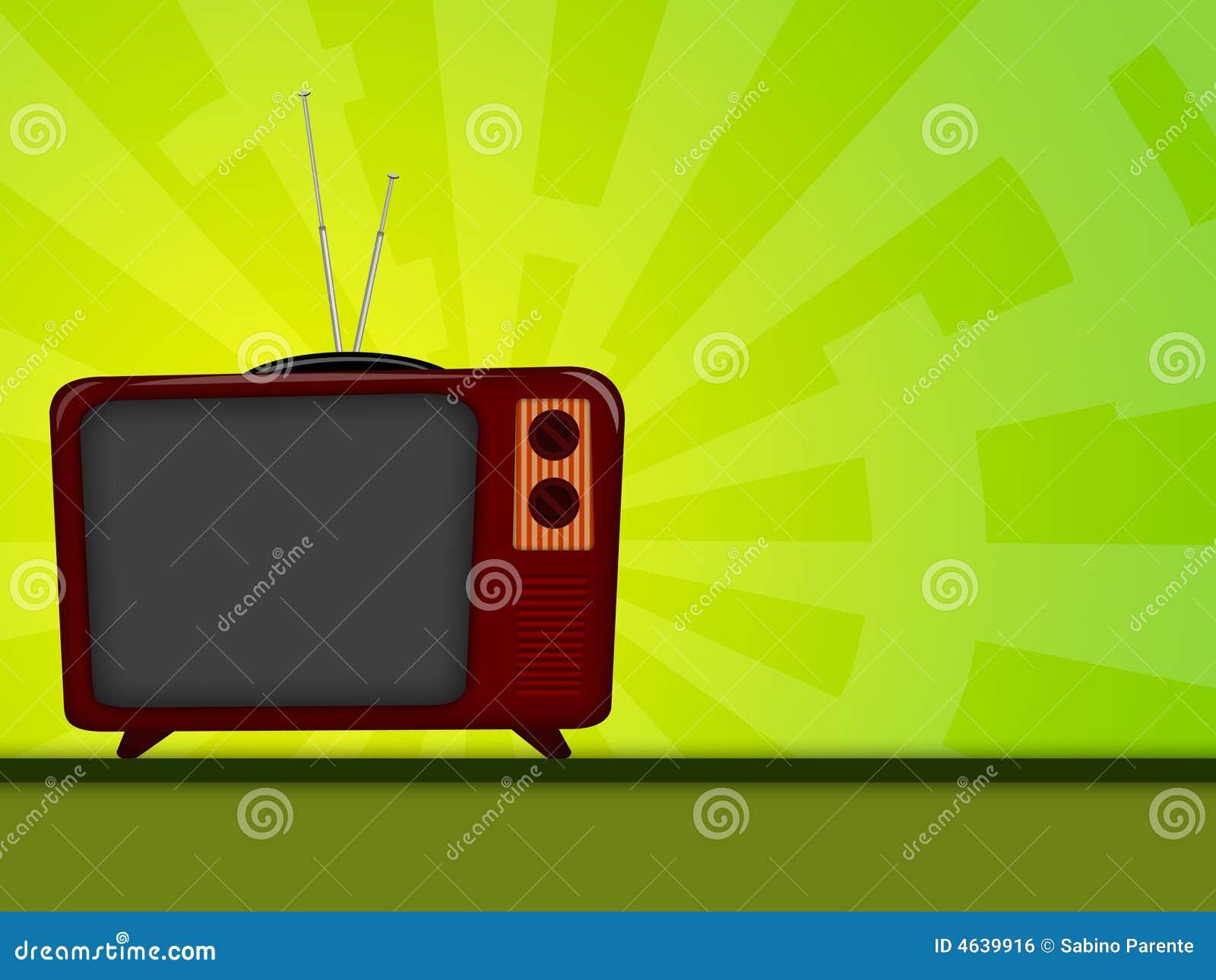 Televisão velha