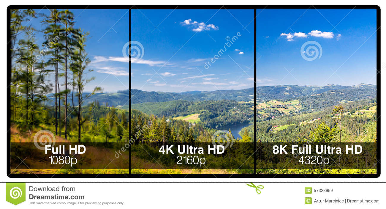 television display concept. stock image - image of definition