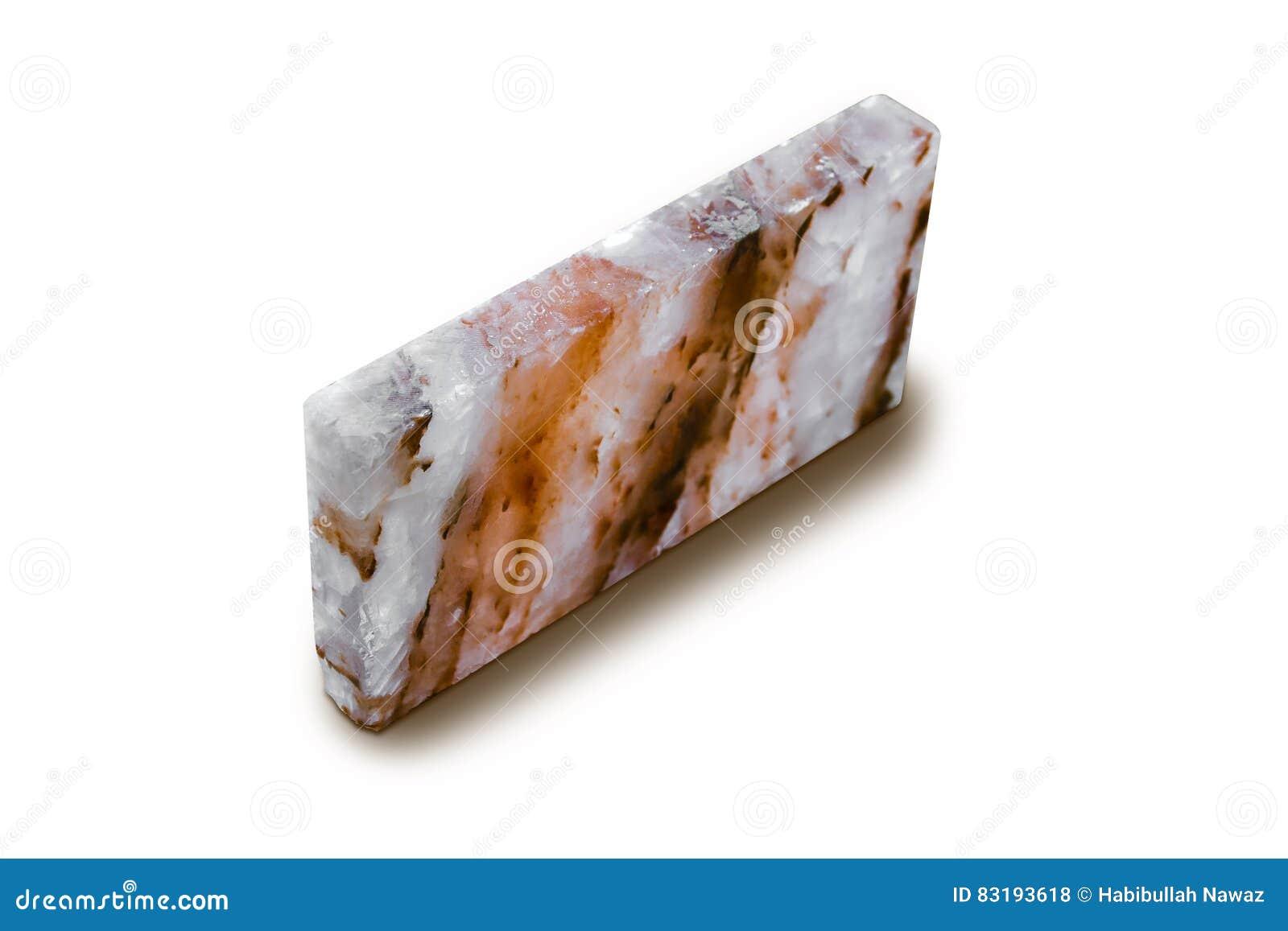 Telha de sal de rocha