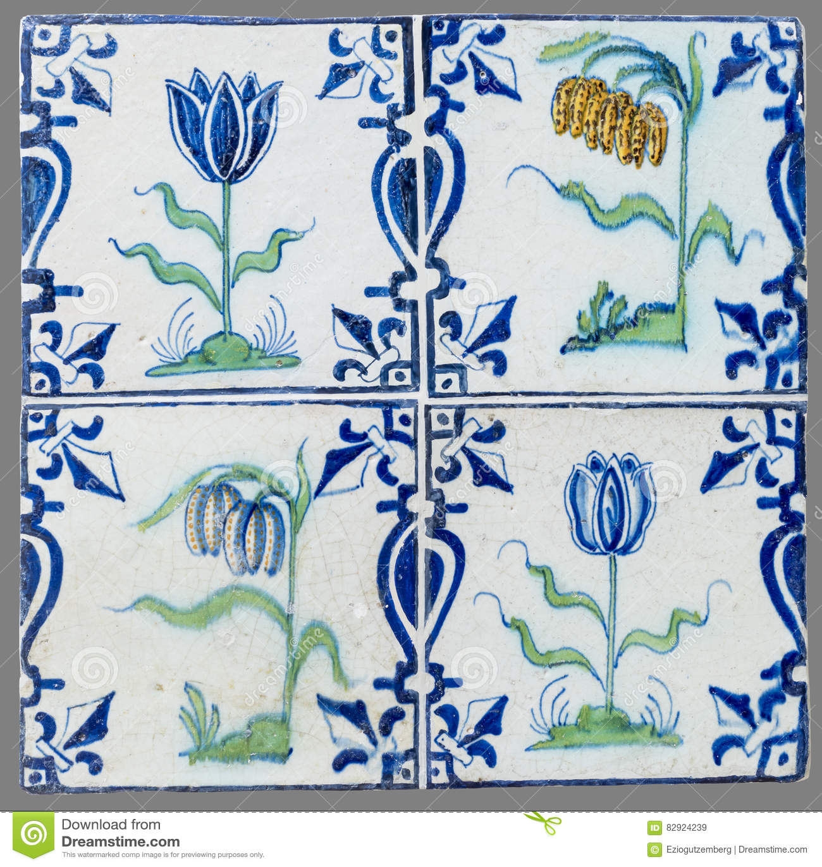 Telha holandesa do 16a ao século XVIII