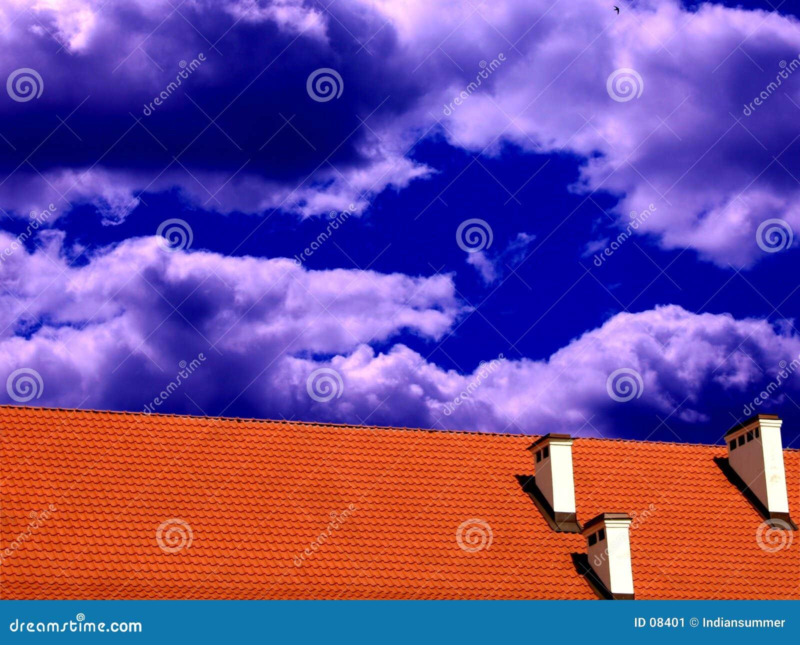 Telhado e o céu II