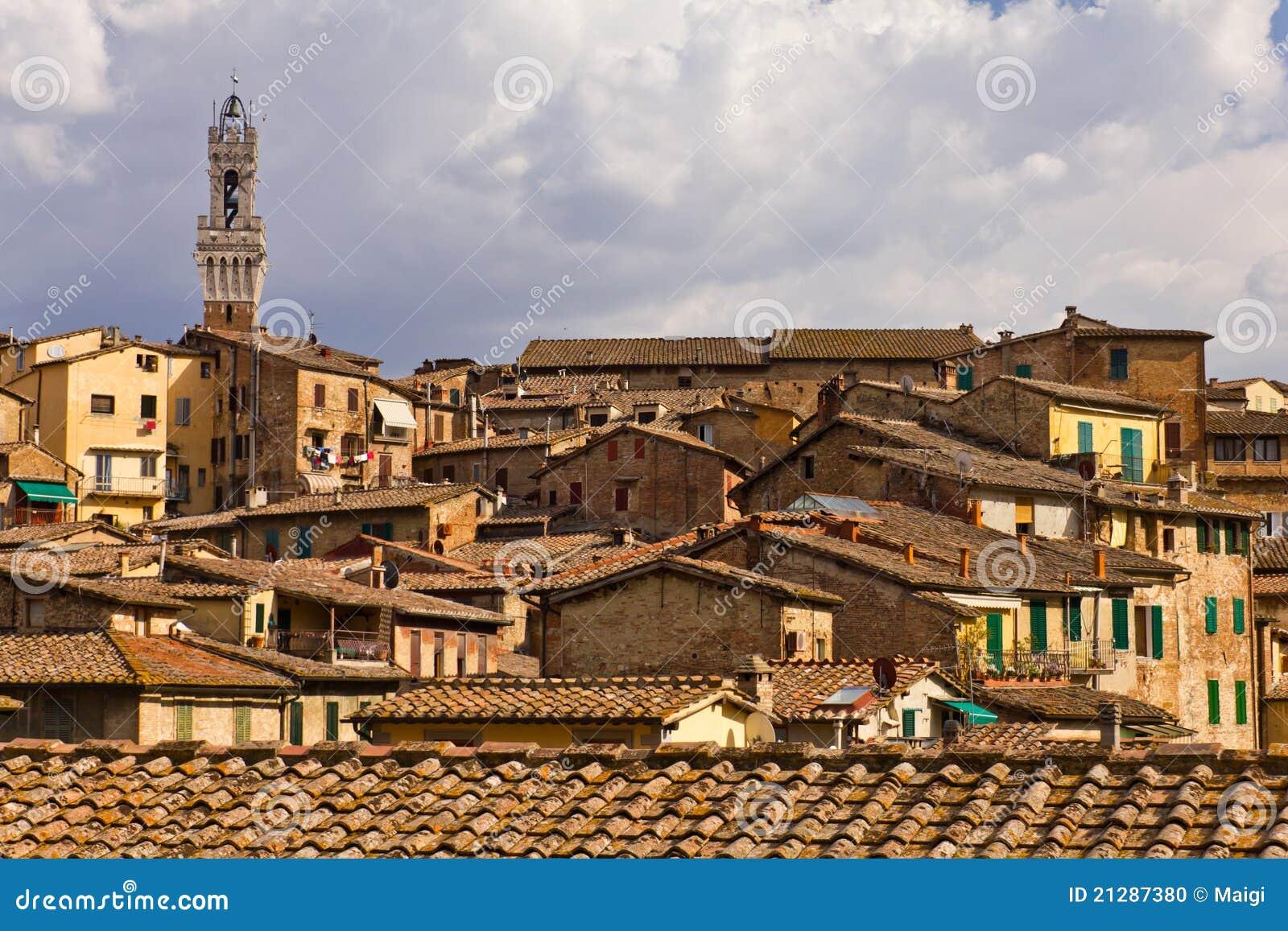 Telhados de Siena