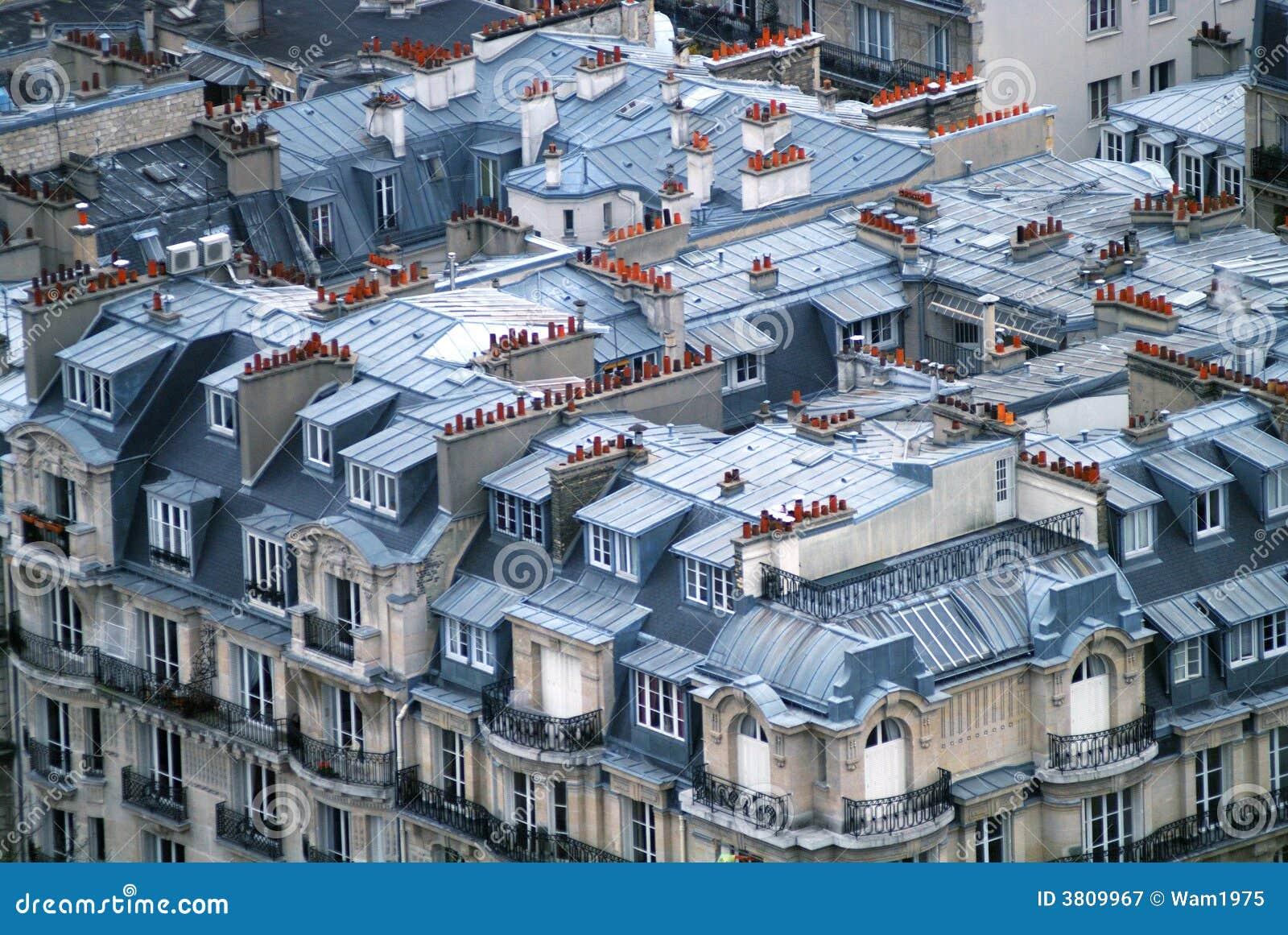 Telhados em Paris