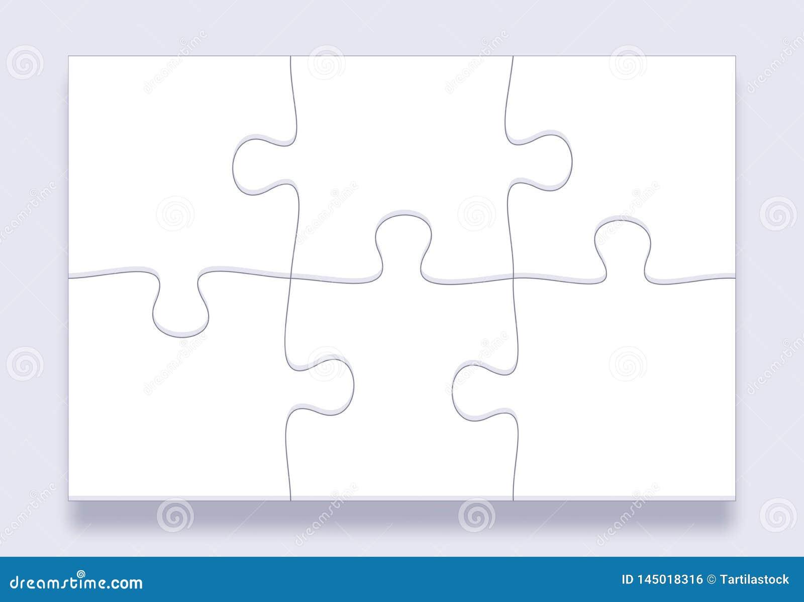 Telhas da serra de vaivém Grade dos enigmas, detalhes das serras de vaivém e partes conectadas do enigma introduzindo no mercad