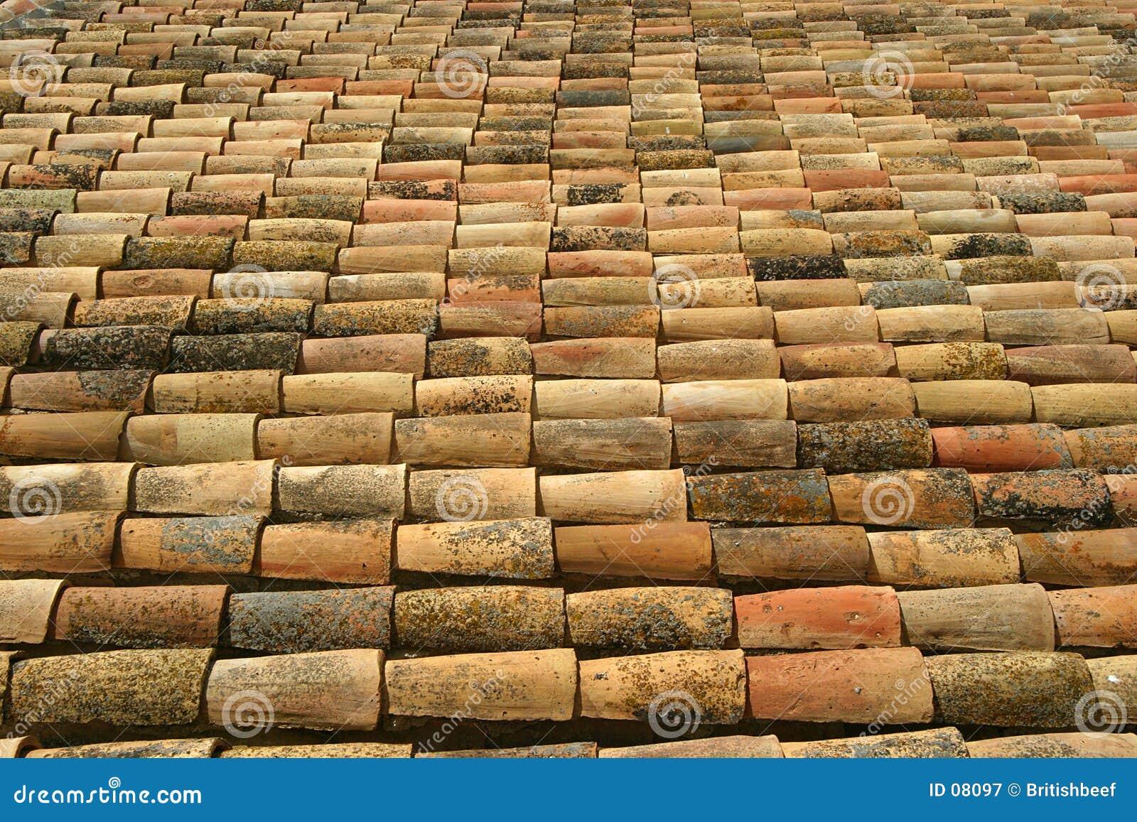 Telhas de telhado espanholas