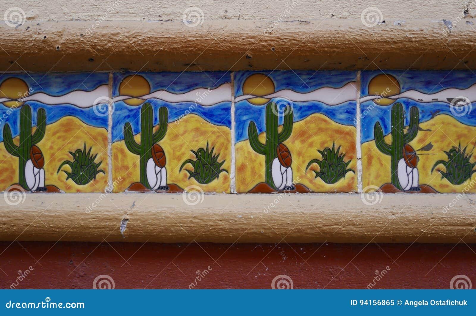 Telhas modeladas mexicano