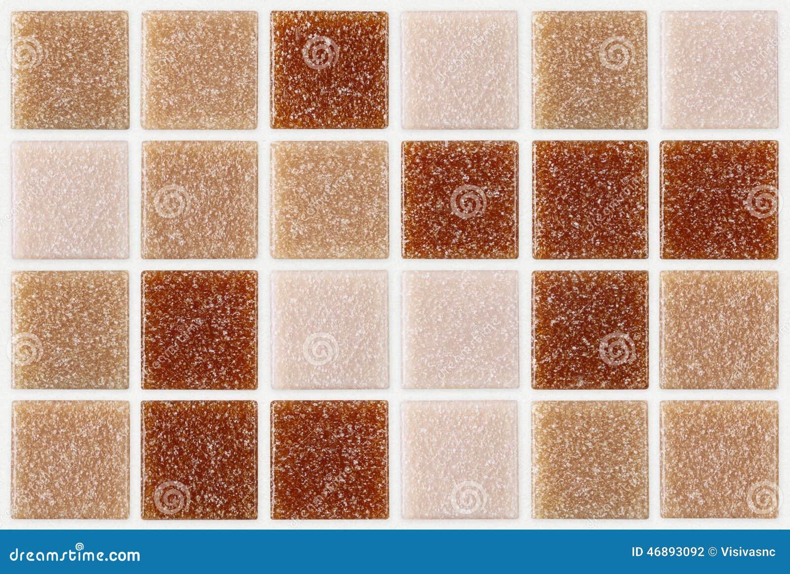 Telhe o quadrado do mosaico decorado com fundo cor-de-rosa vermelho da textura do brilho