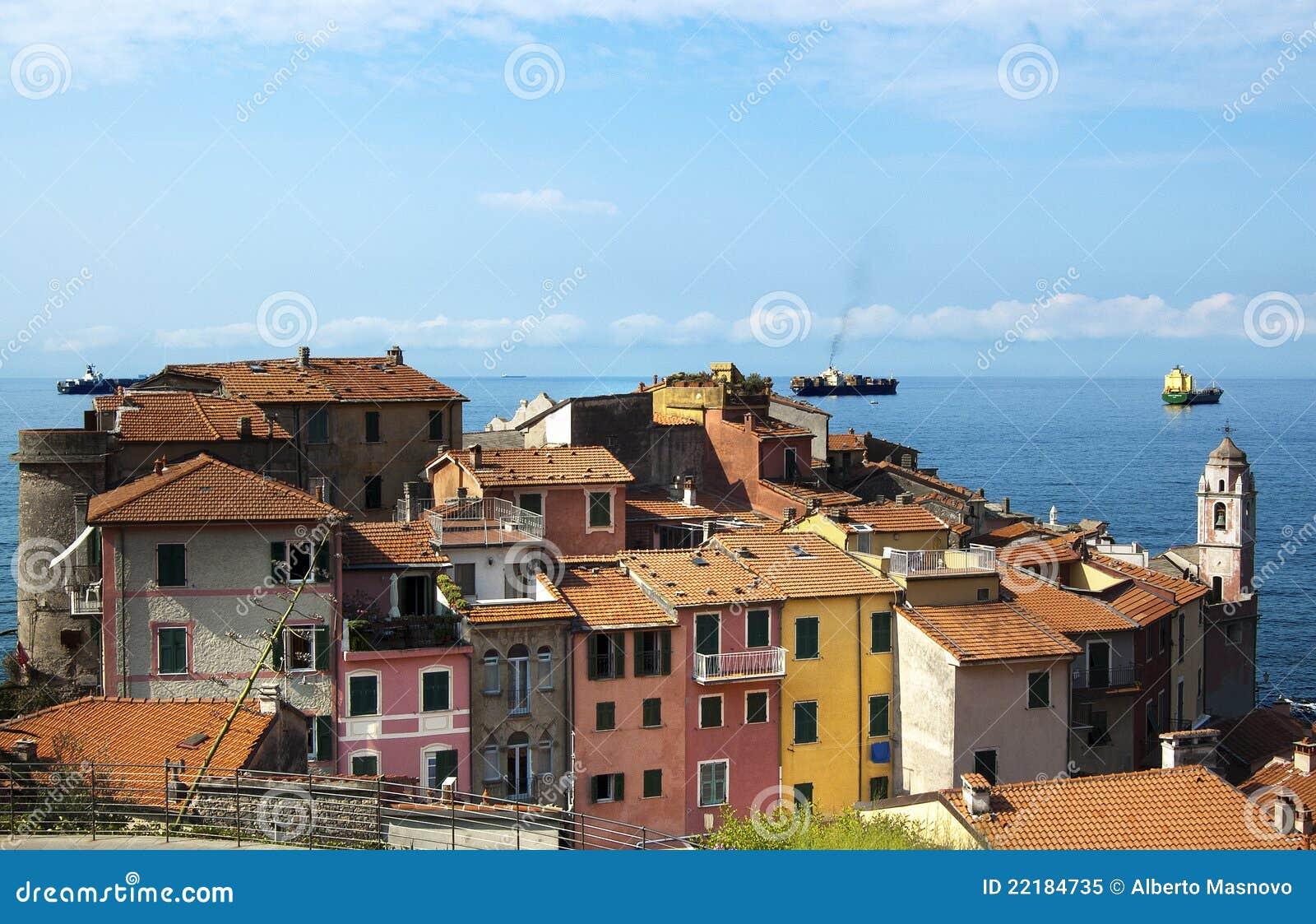 Tellaro της Ιταλίας Λιγυρία