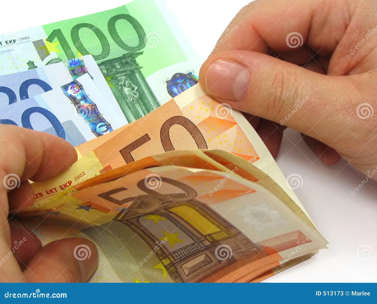 Tellend contant geld