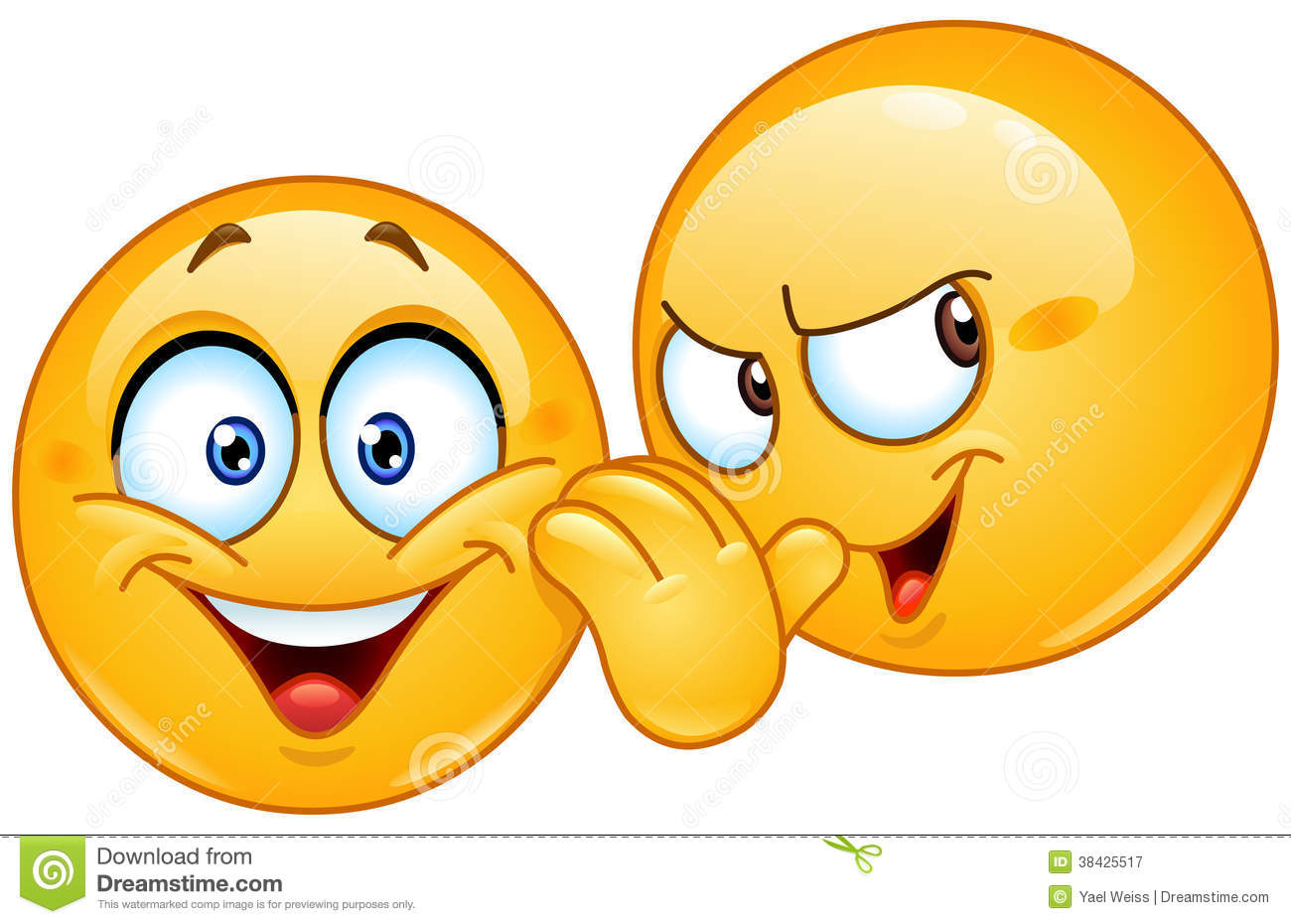 telling a secret emoticon stock vector image of cute shhh clipart it's a surprise shhh clip art free
