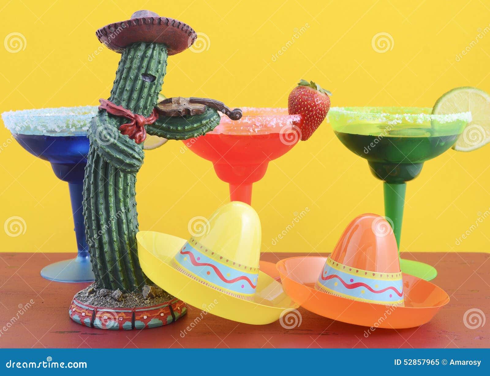 Tema colorido feliz del partido de Cinco de Mayo