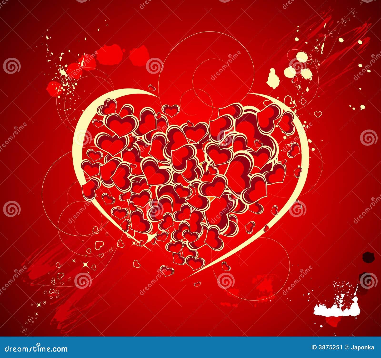 Tema del biglietto di S. Valentino