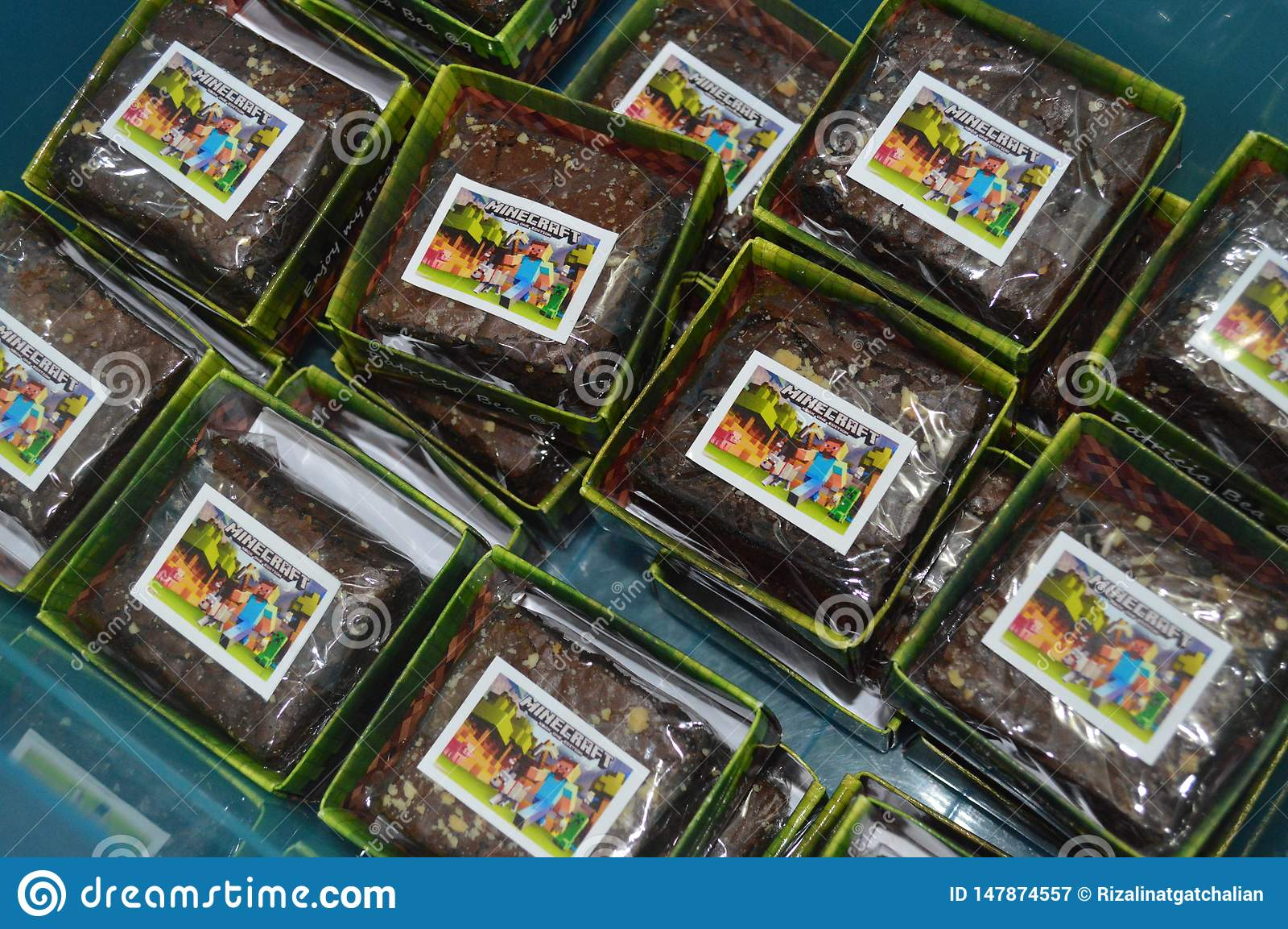Tema del minecraft de los brownie