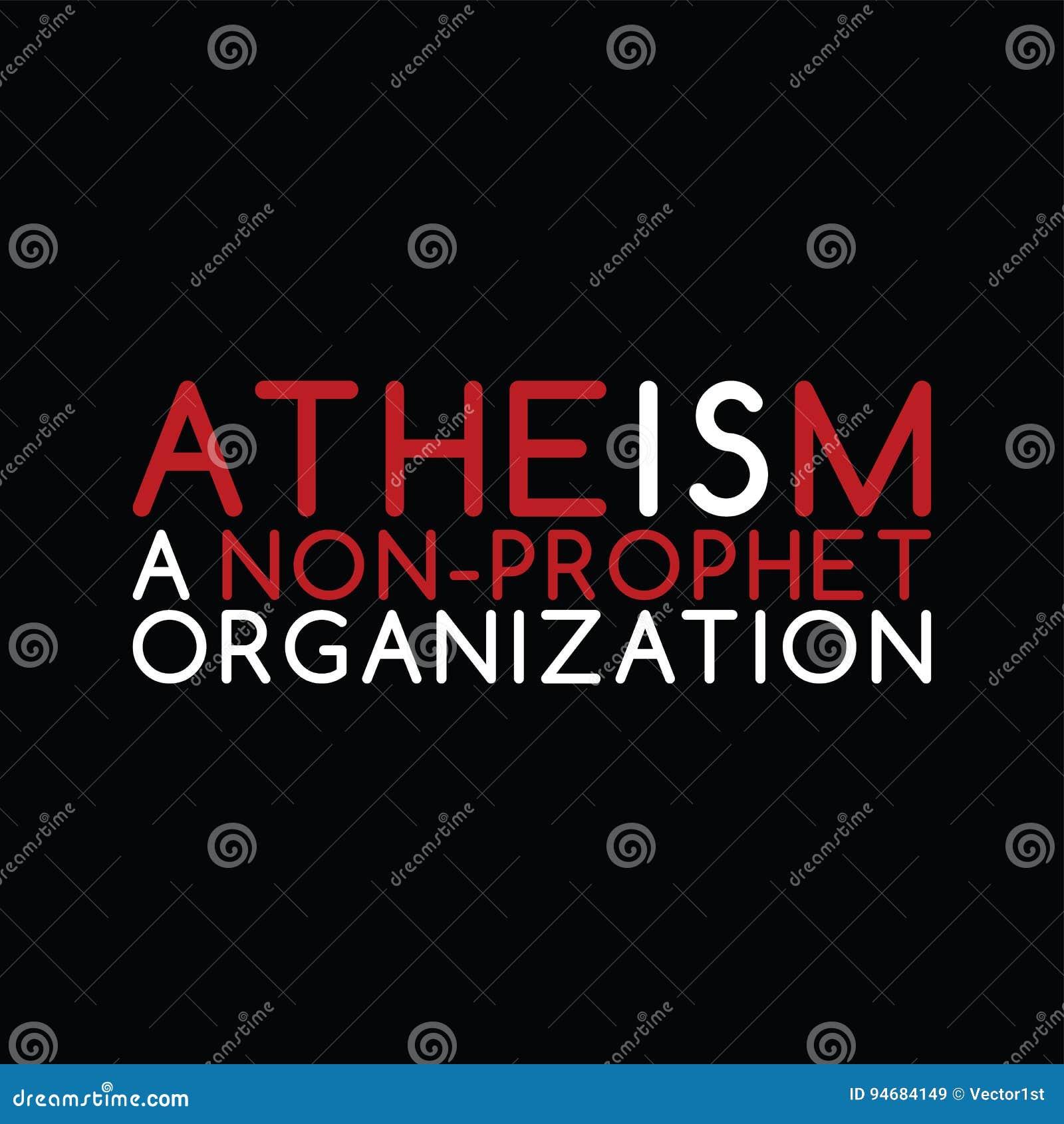 Tema do ateísmo - contra a campanha religiosa da ignorância