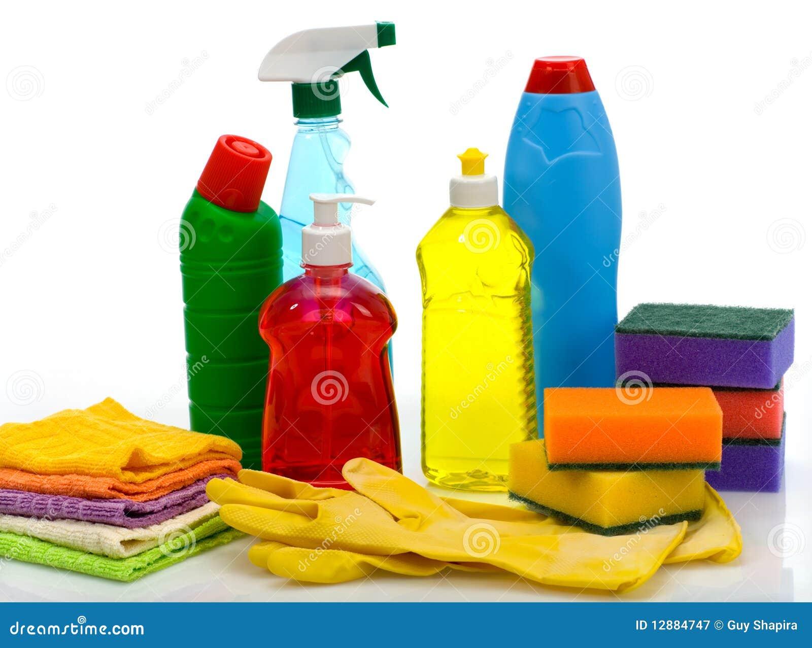 Temas Para La Limpieza Sanitaria Una Casa Imagen de archivo - Imagen ...
