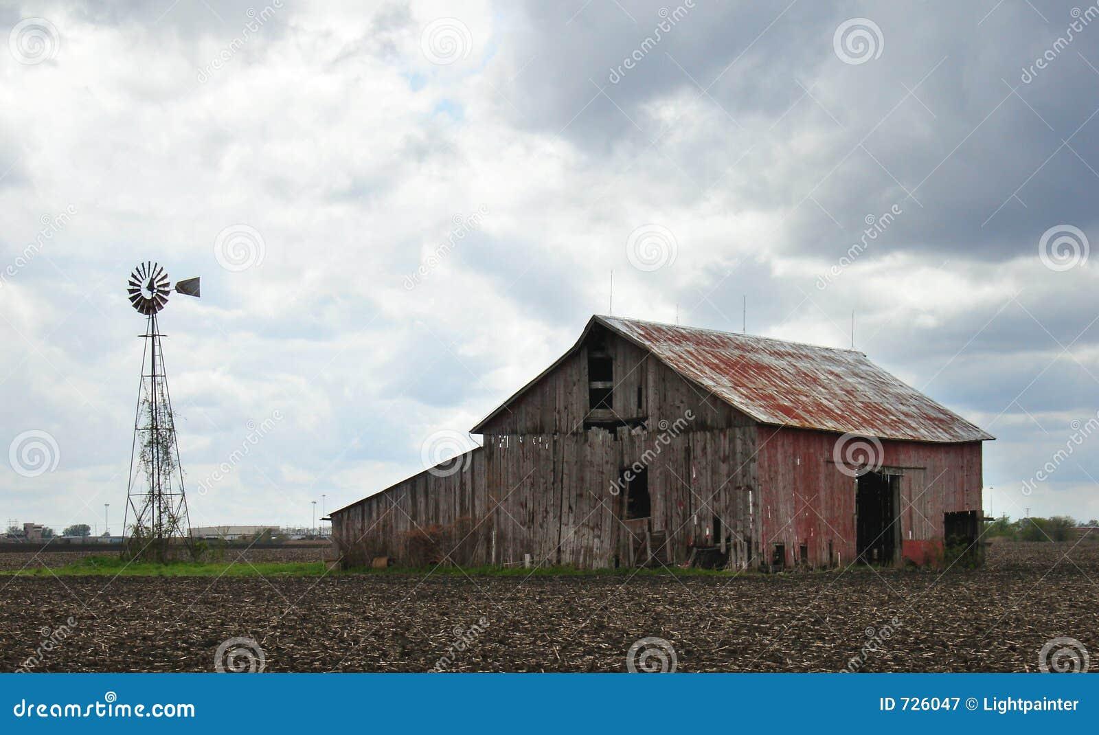 Tempête de grange