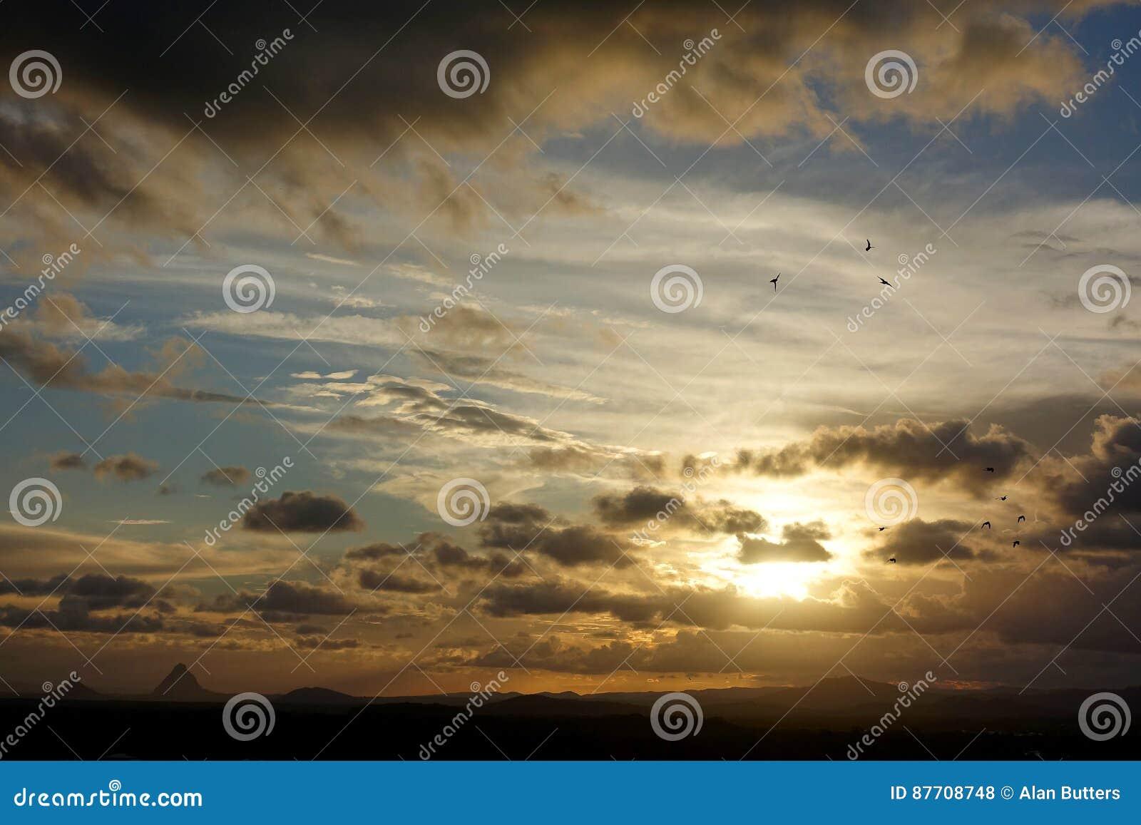 Tempêtes de soirée au-dessus de Caloundra 3