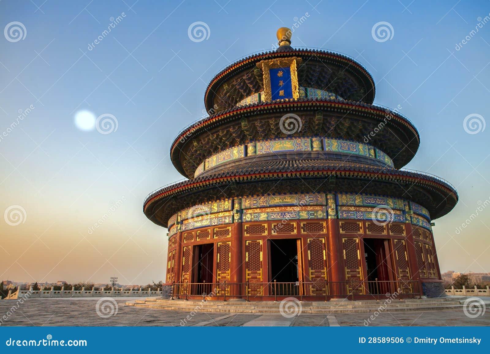 Tempel av himmel i Beijing