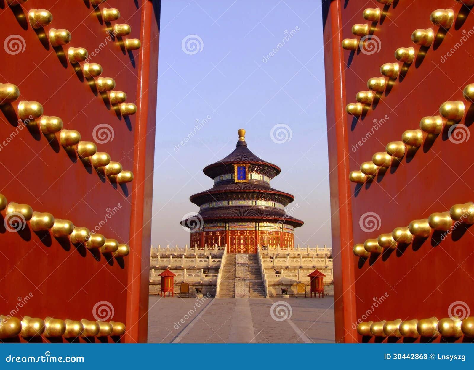 Tempel av himmel i Peking, Kina