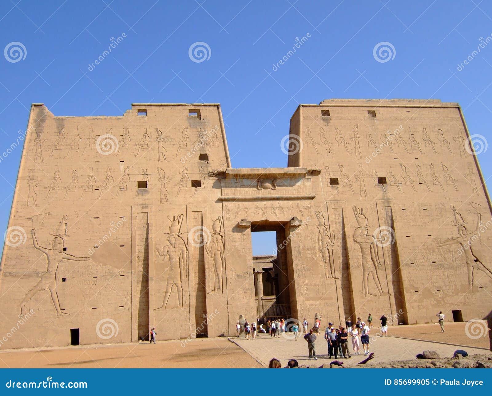 Tempel av Philae i Egypten