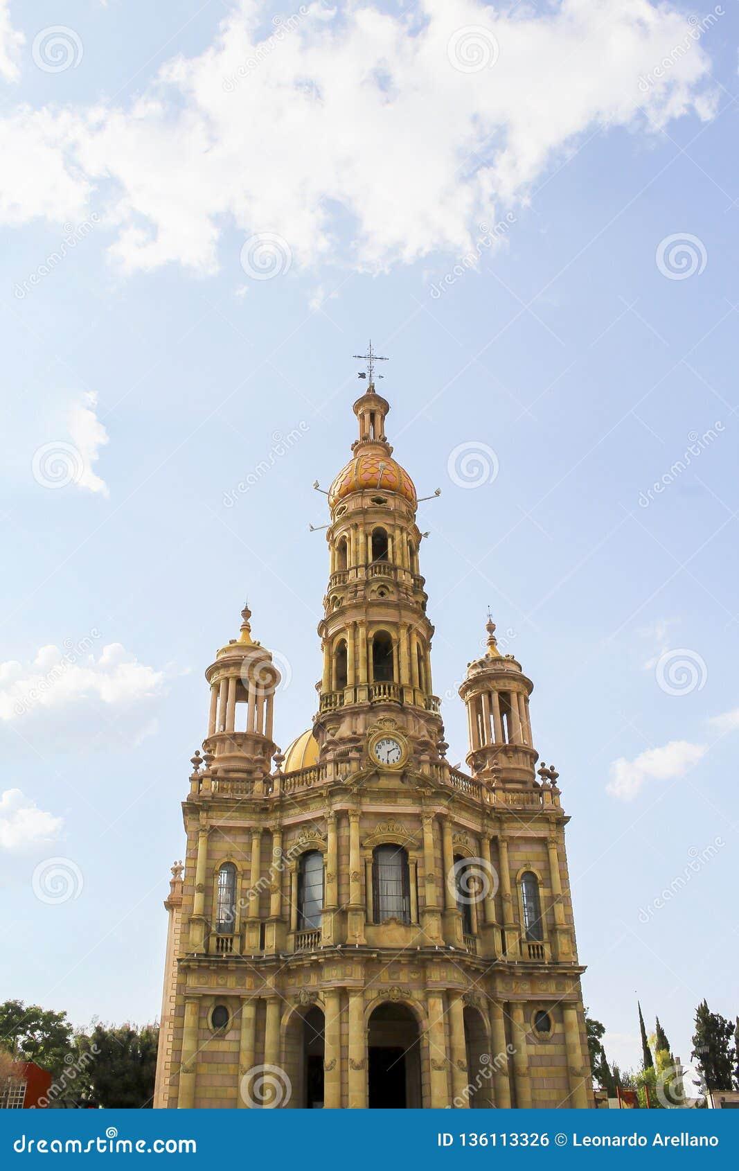 Tempel av San Antonio, i hjärtan av Mexico