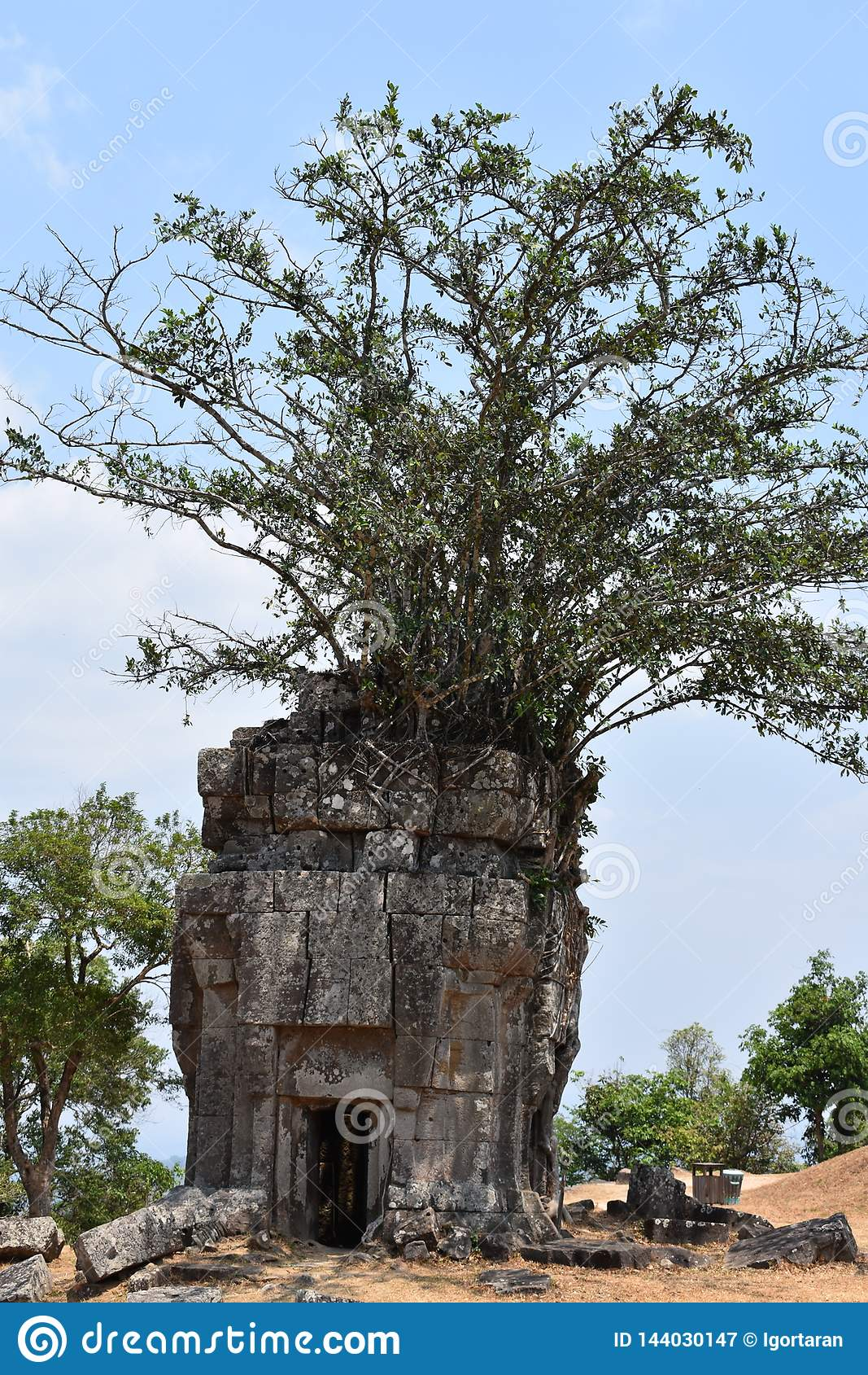 Tempel av Shiva cambodia