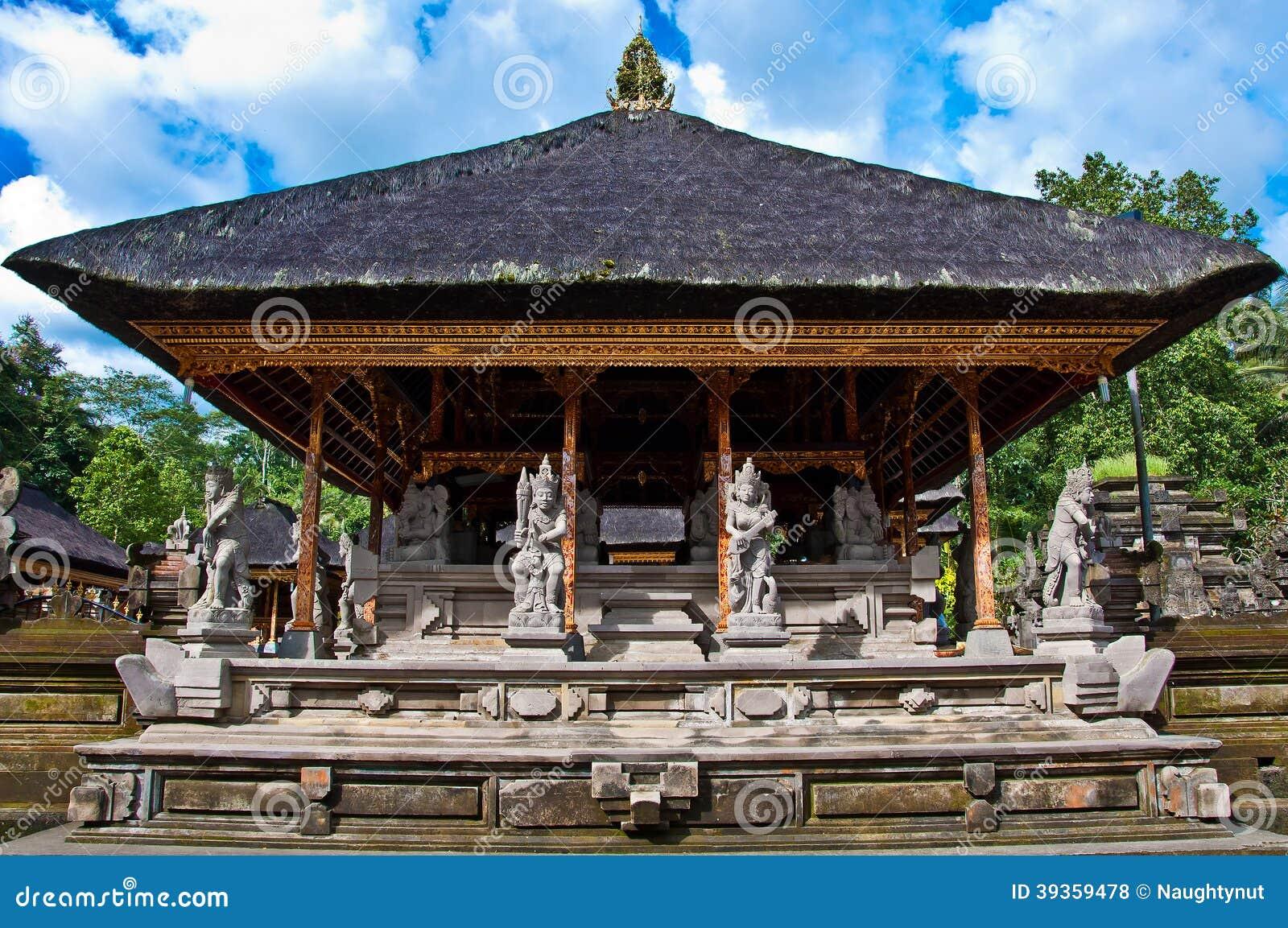 Tempel. Bali. Indonesien