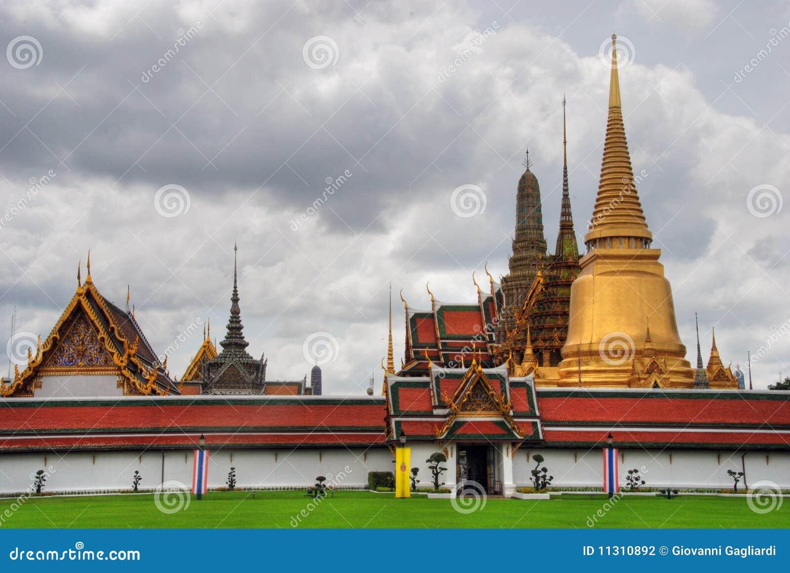 Tempel in Bangkok, August 2007