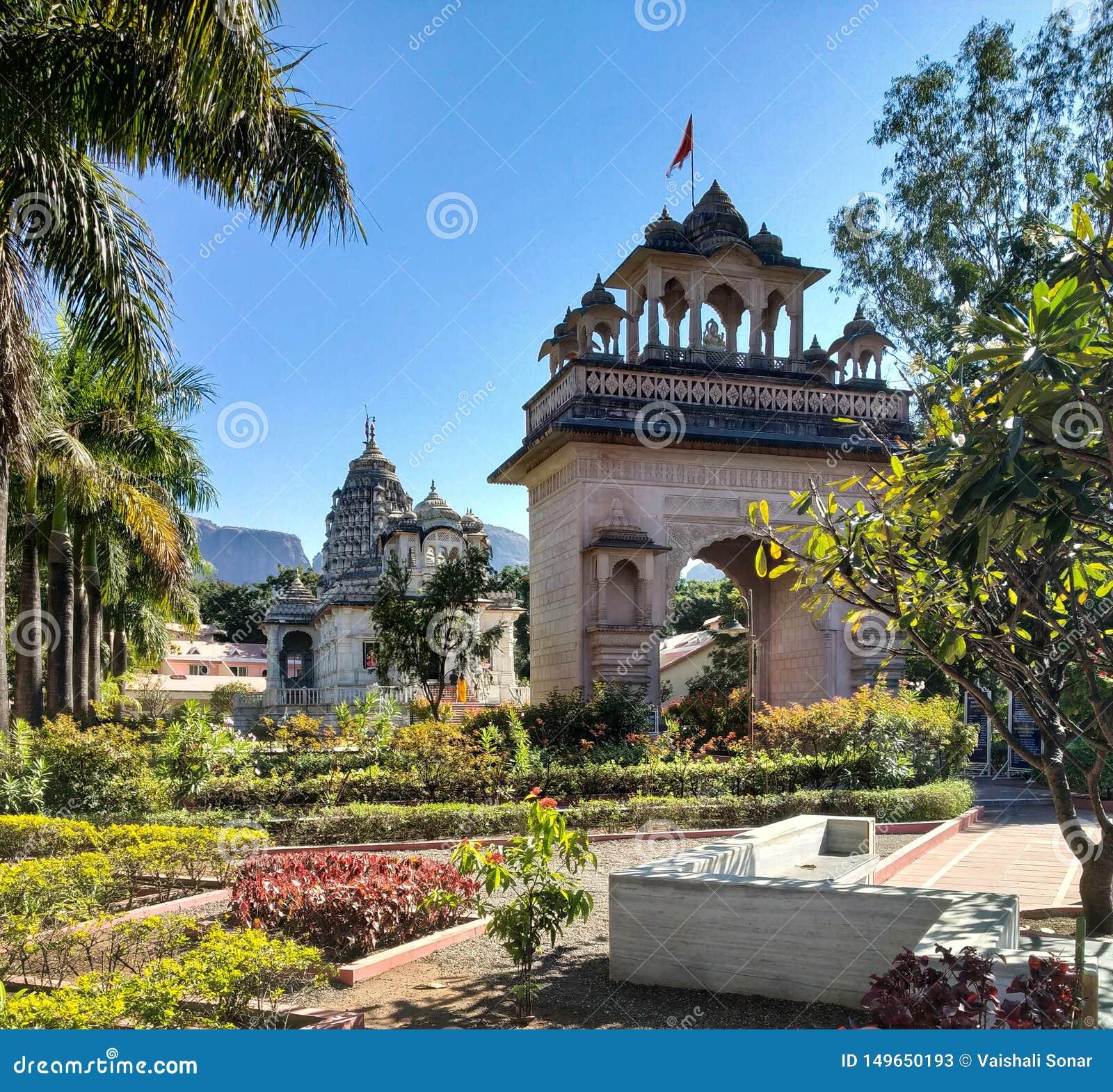 Tempel bij tryambak nashik India
