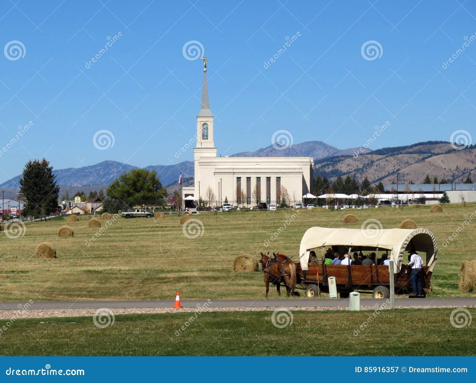 Tempel en Wagen