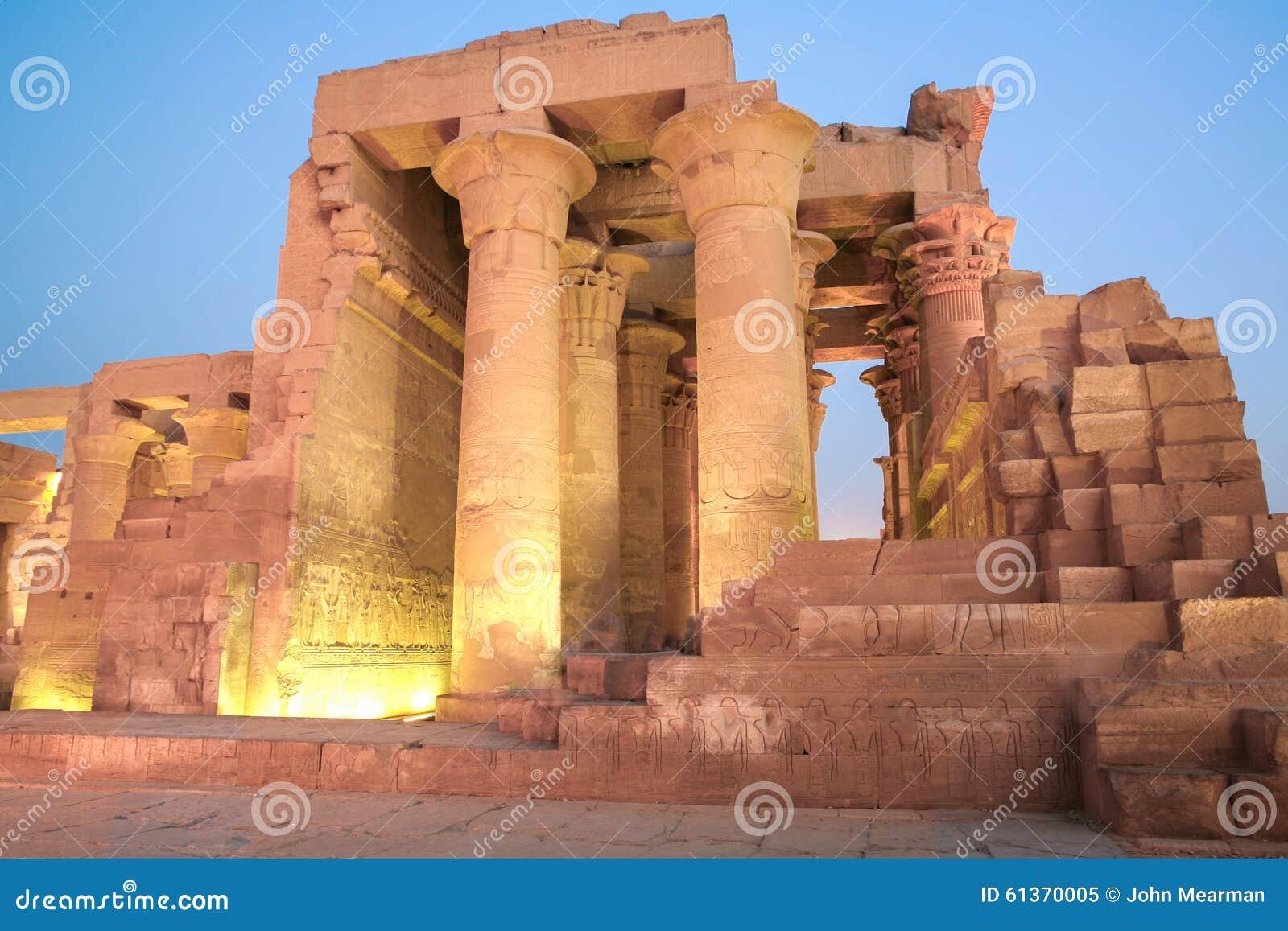 Tempel för egypt komombo