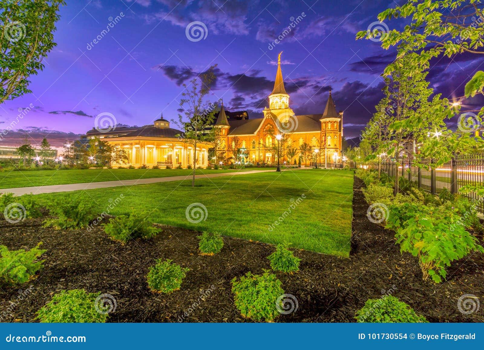Tempel för Provo stad LDS