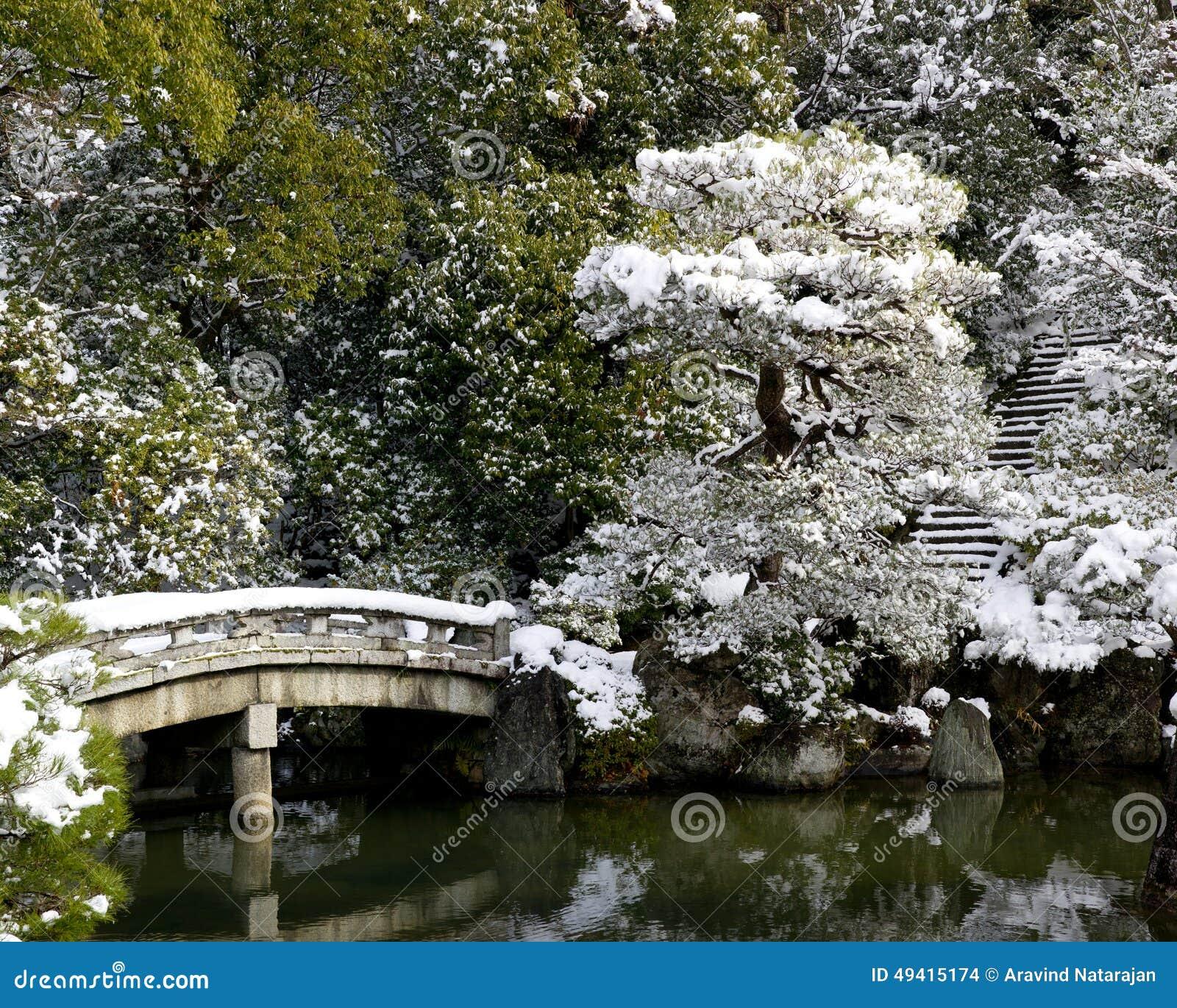 Download Tempel-Garten stockfoto. Bild von garten, reise, kyoto - 49415174